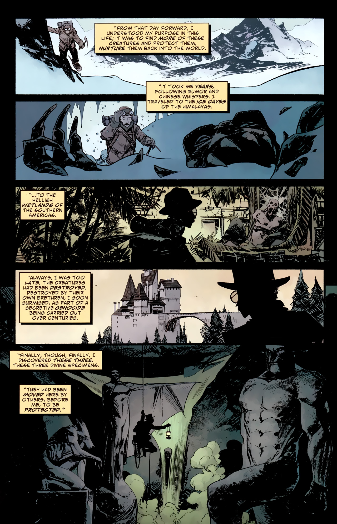 Read online American Vampire: Survival of the Fittest comic -  Issue #4 - 6