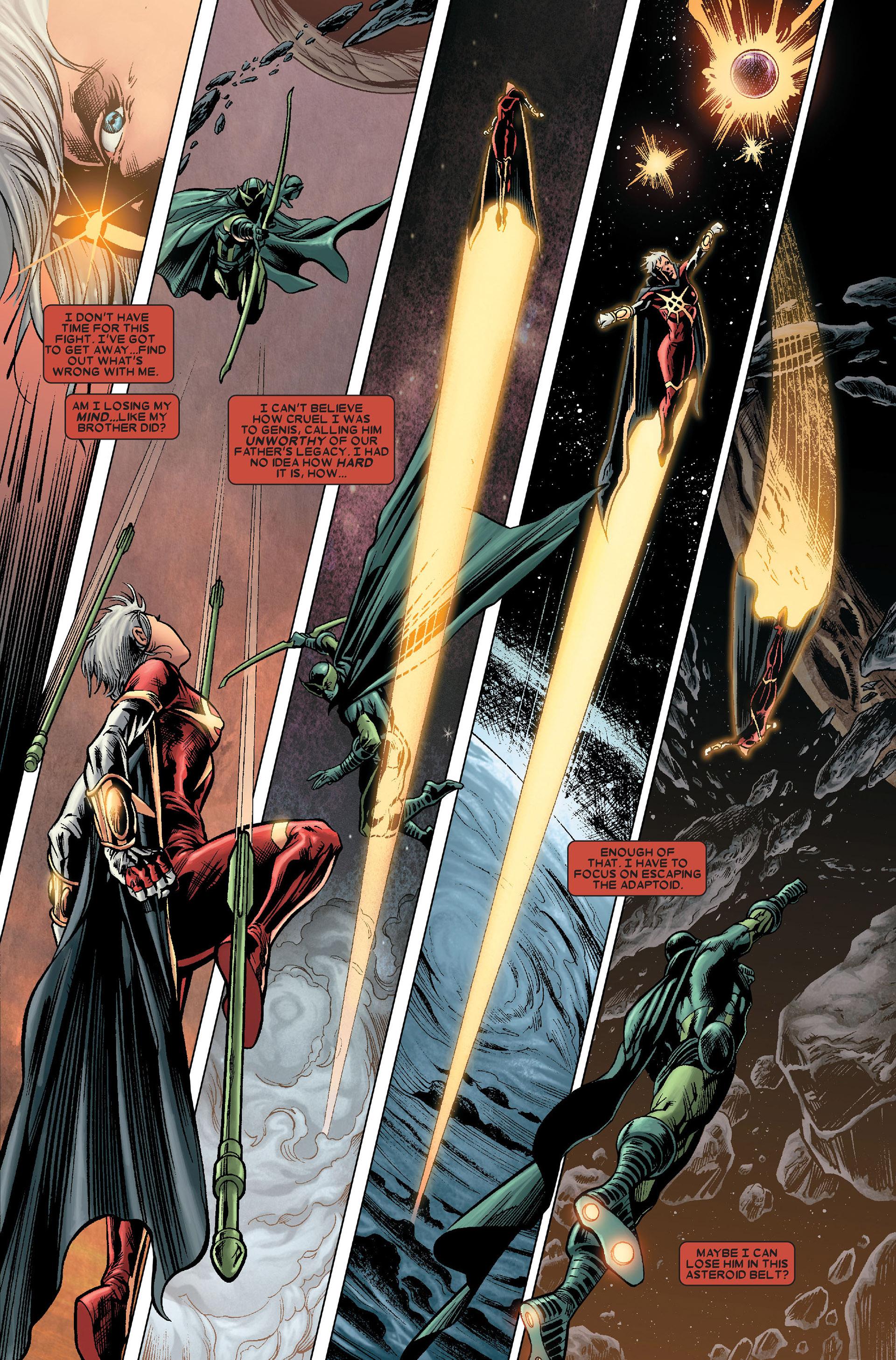 Read online Annihilation: Conquest - Quasar comic -  Issue #1 - 10