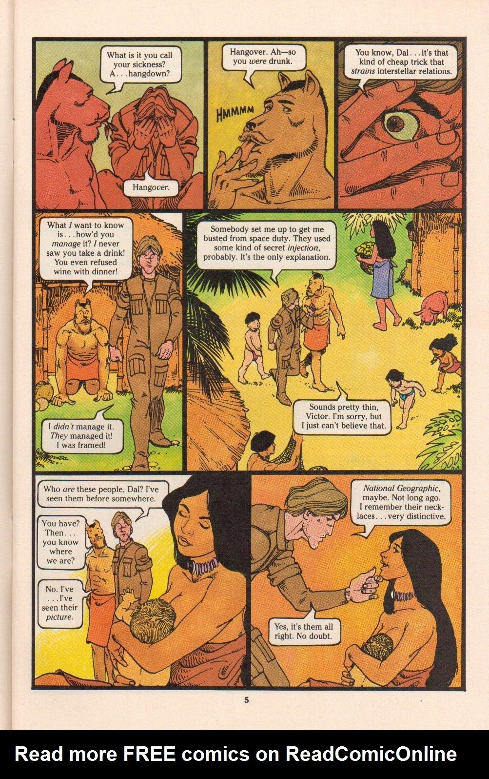 Read online Dalgoda comic -  Issue #4 - 7
