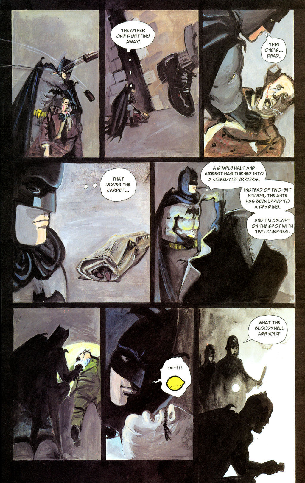 Read online Batman: The Order of Beasts comic -  Issue # Full - 17
