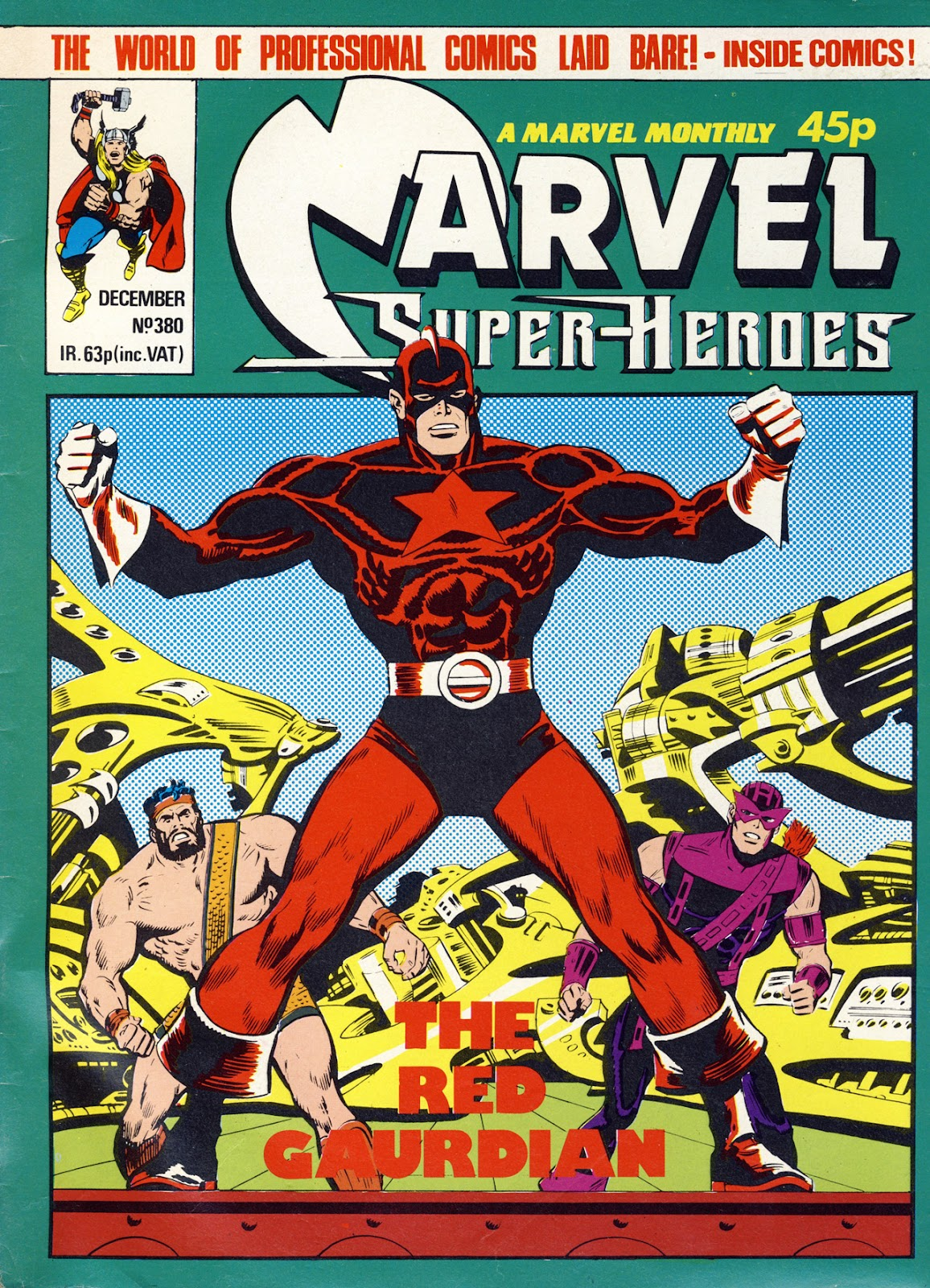 Marvel Super-Heroes (1979) issue 380 - Page 1