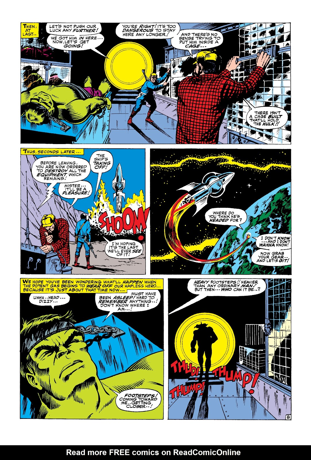 Read online Marvel Masterworks: The Incredible Hulk comic -  Issue # TPB 3 (Part 2) - 69