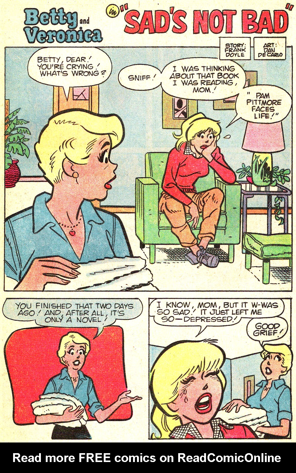 Read online Archie's Girls Betty and Veronica comic -  Issue #311 - 28