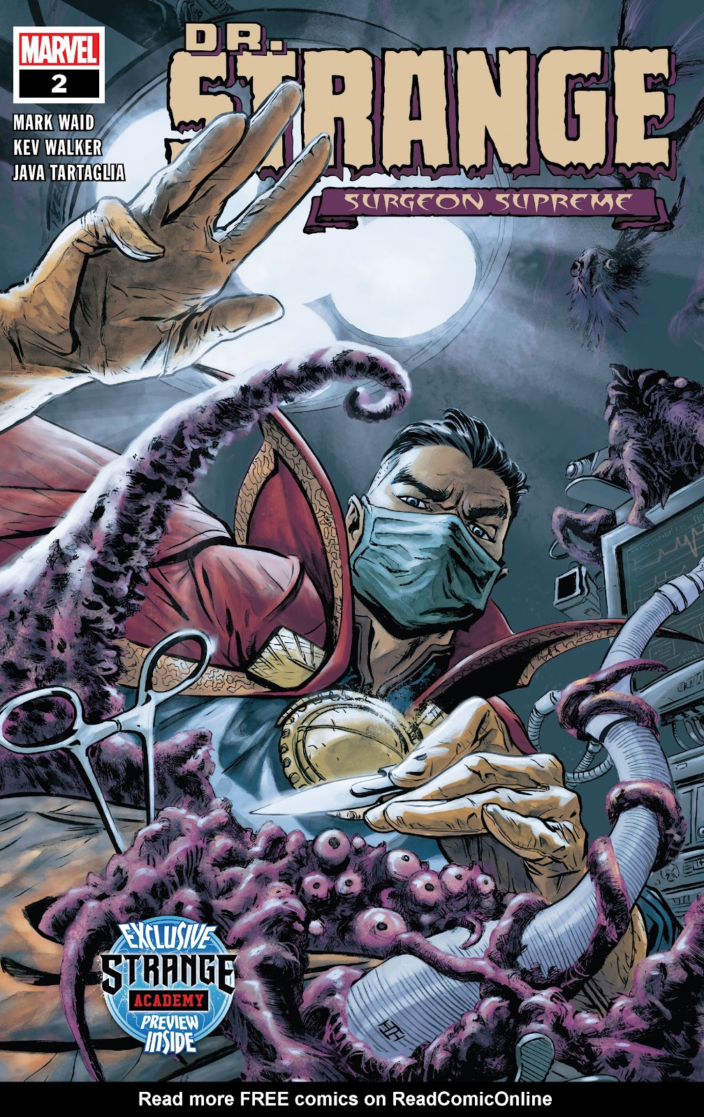 Read online Dr. Strange comic -  Issue #2 - 1