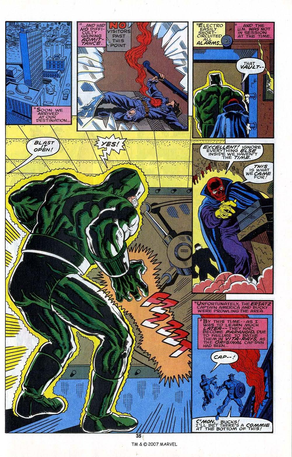 Read online Captain America (1968) comic -  Issue # _Annual 13 - 37