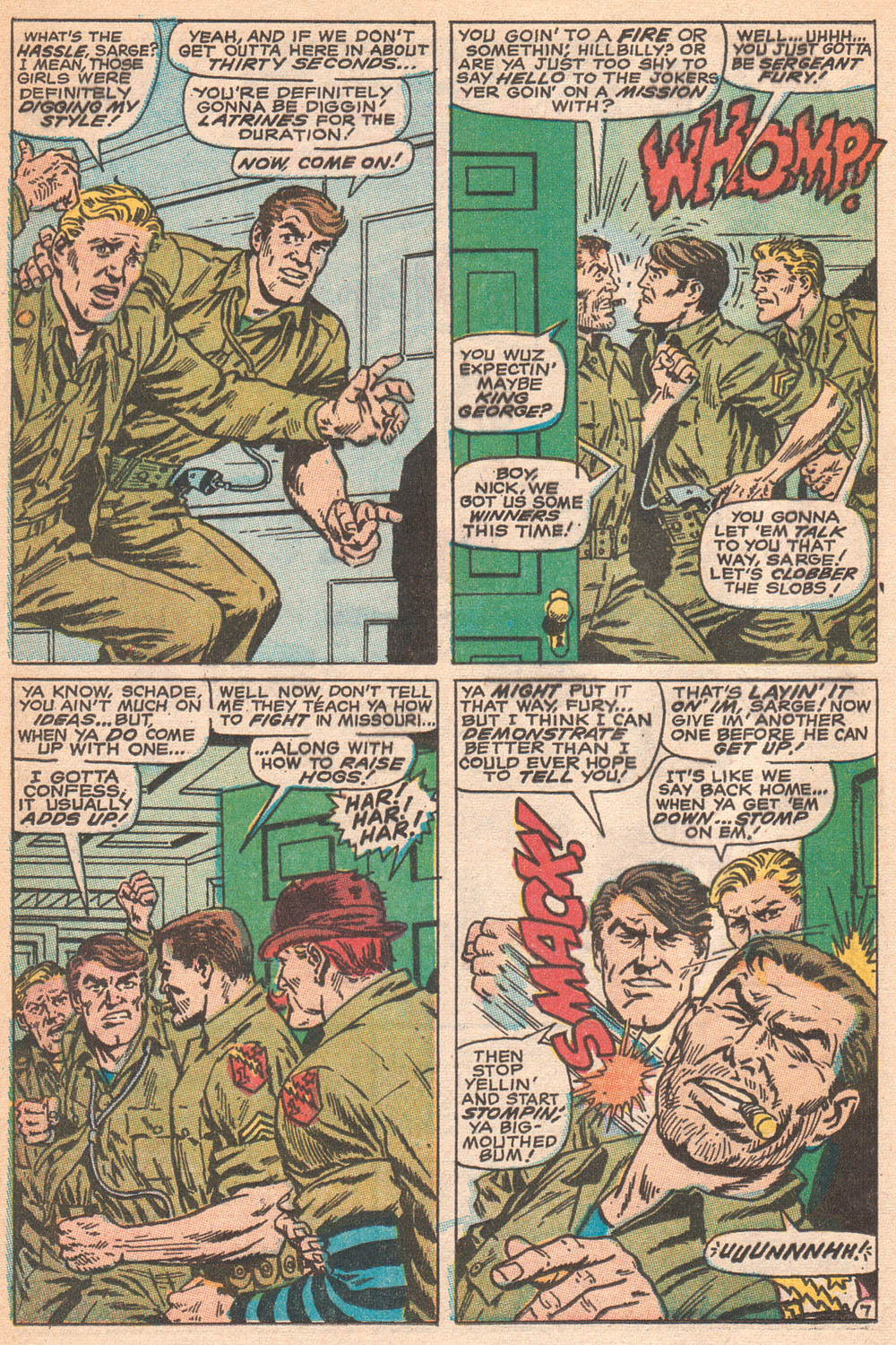 Read online Sgt. Fury comic -  Issue #70 - 12