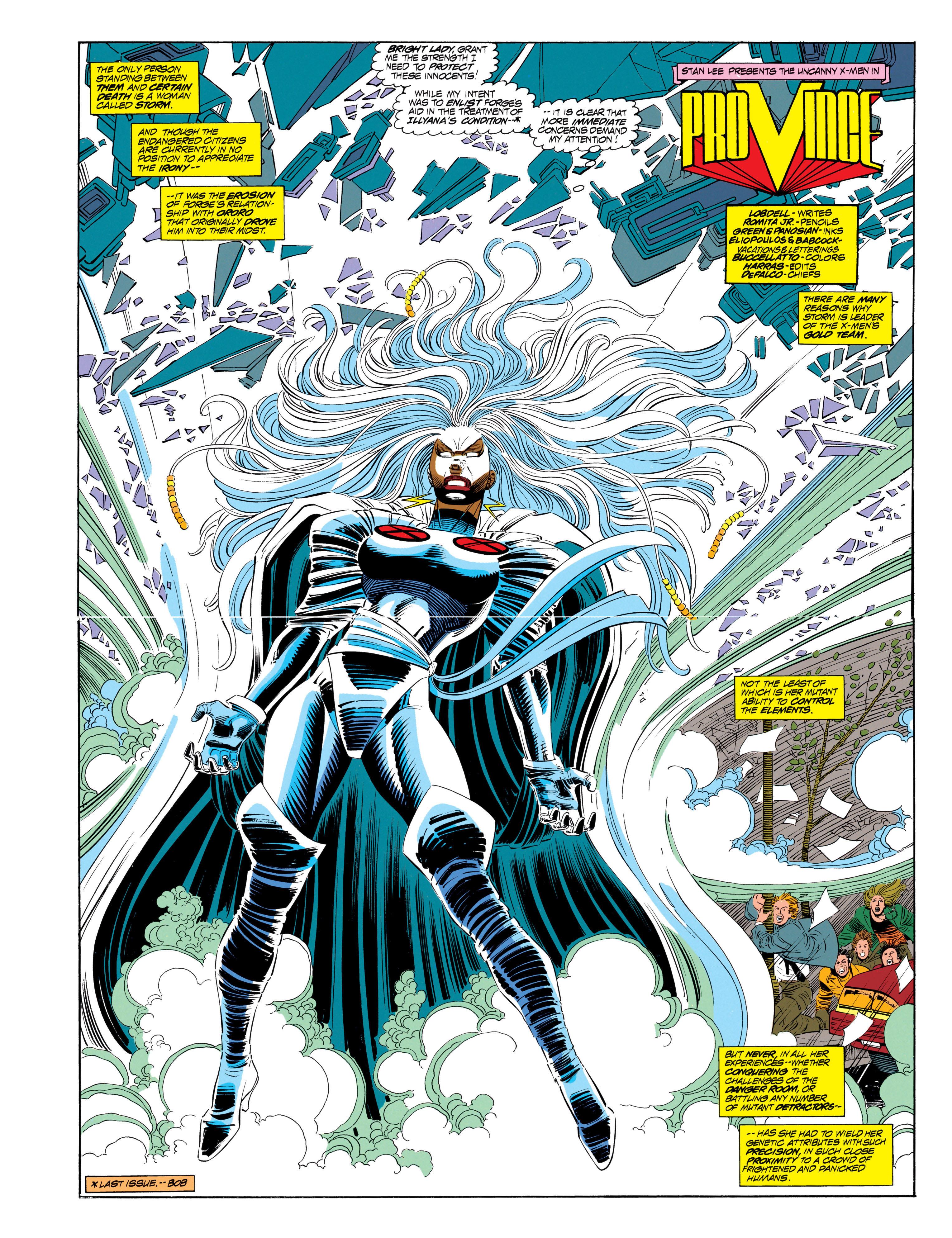 Read online Uncanny X-Men (1963) comic -  Issue #302 - 3