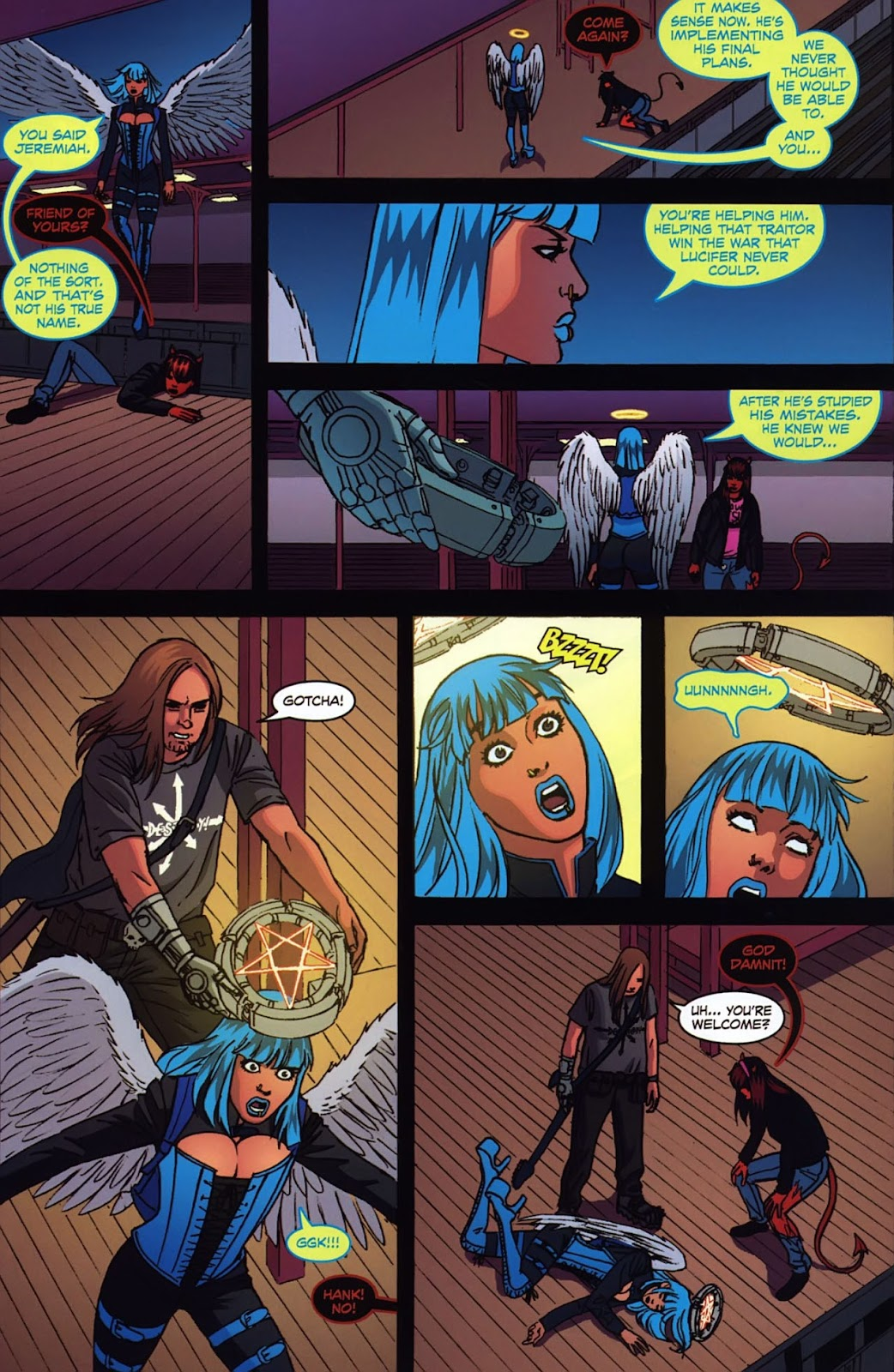 Read online Mercy Sparx (2008) comic -  Issue #3 - 20