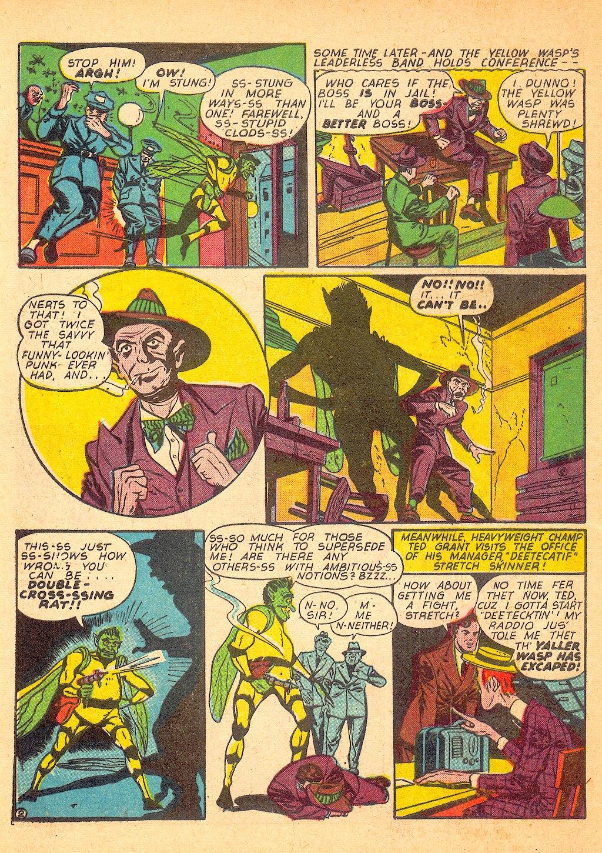Read online Sensation (Mystery) Comics comic -  Issue #25 - 50