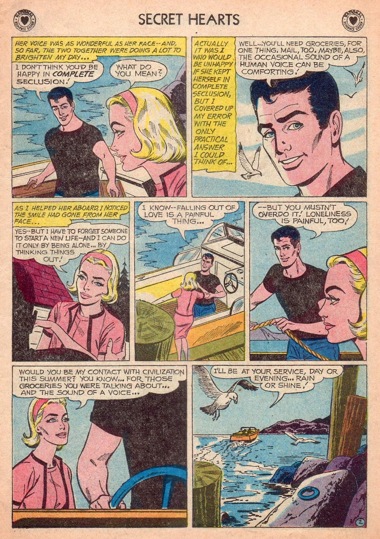 Read online Secret Hearts comic -  Issue #63 - 11