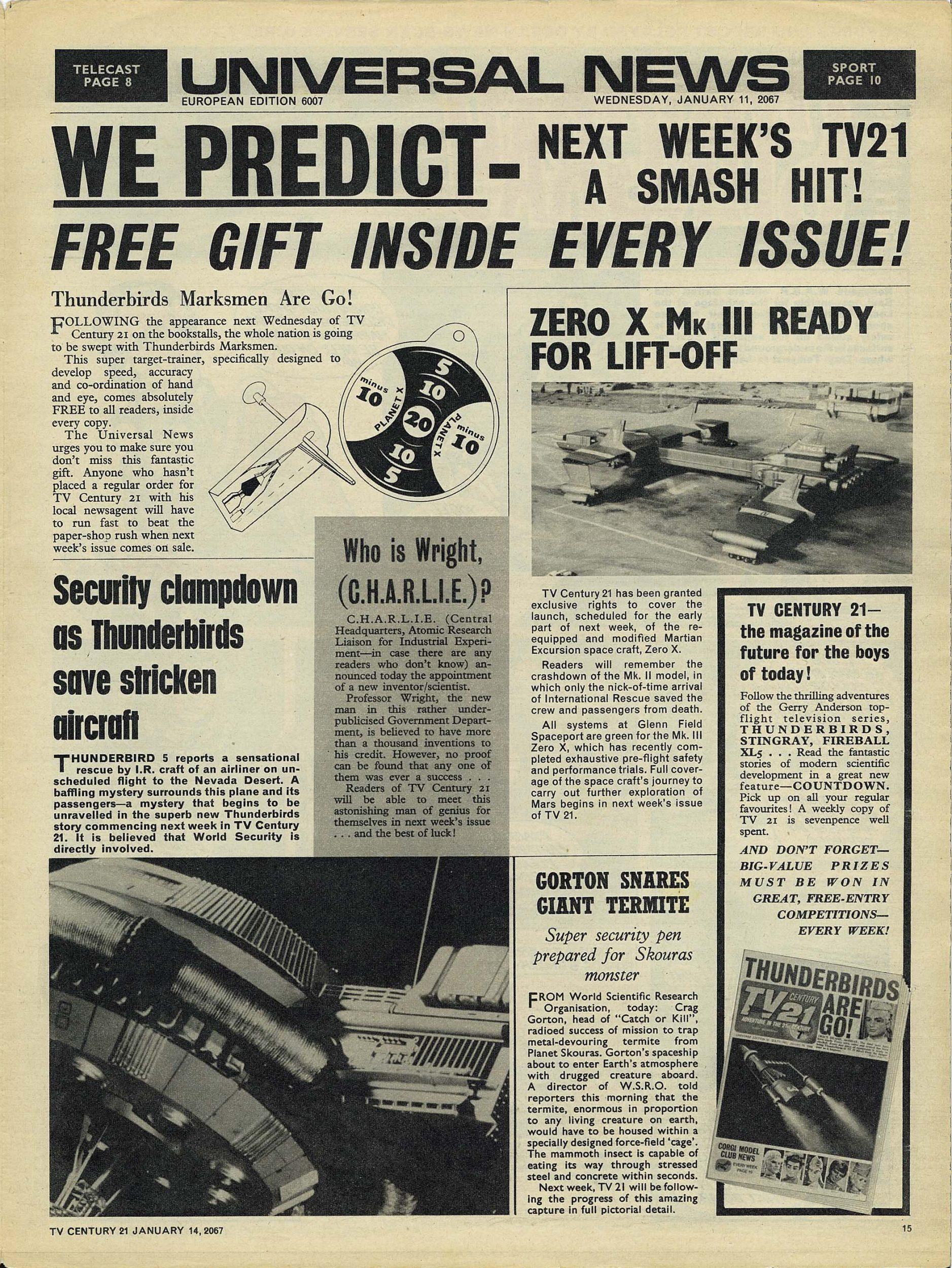 Read online TV Century 21 (TV 21) comic -  Issue #104 - 14