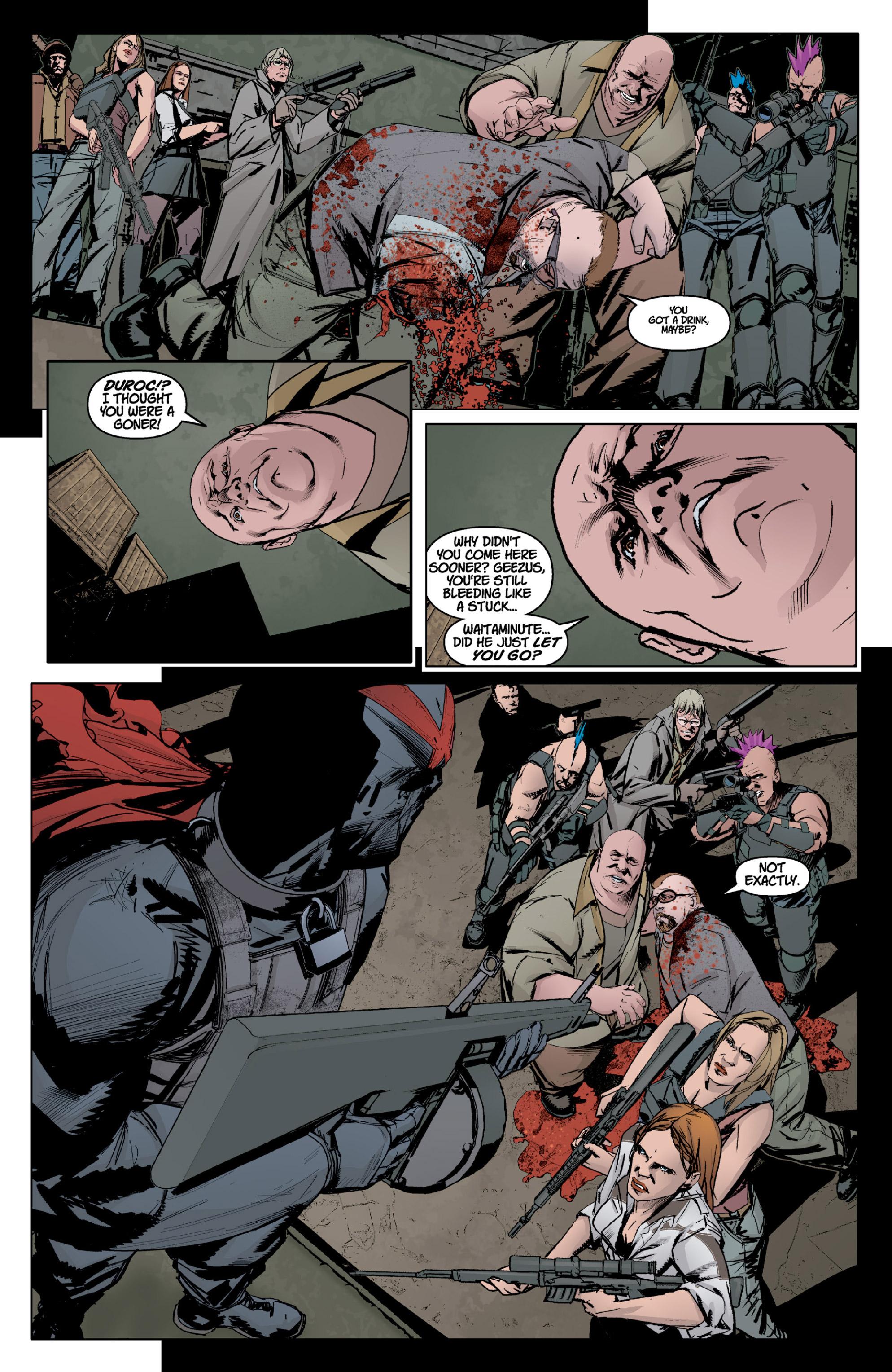 Read online X: Big Bad comic -  Issue # Full - 18