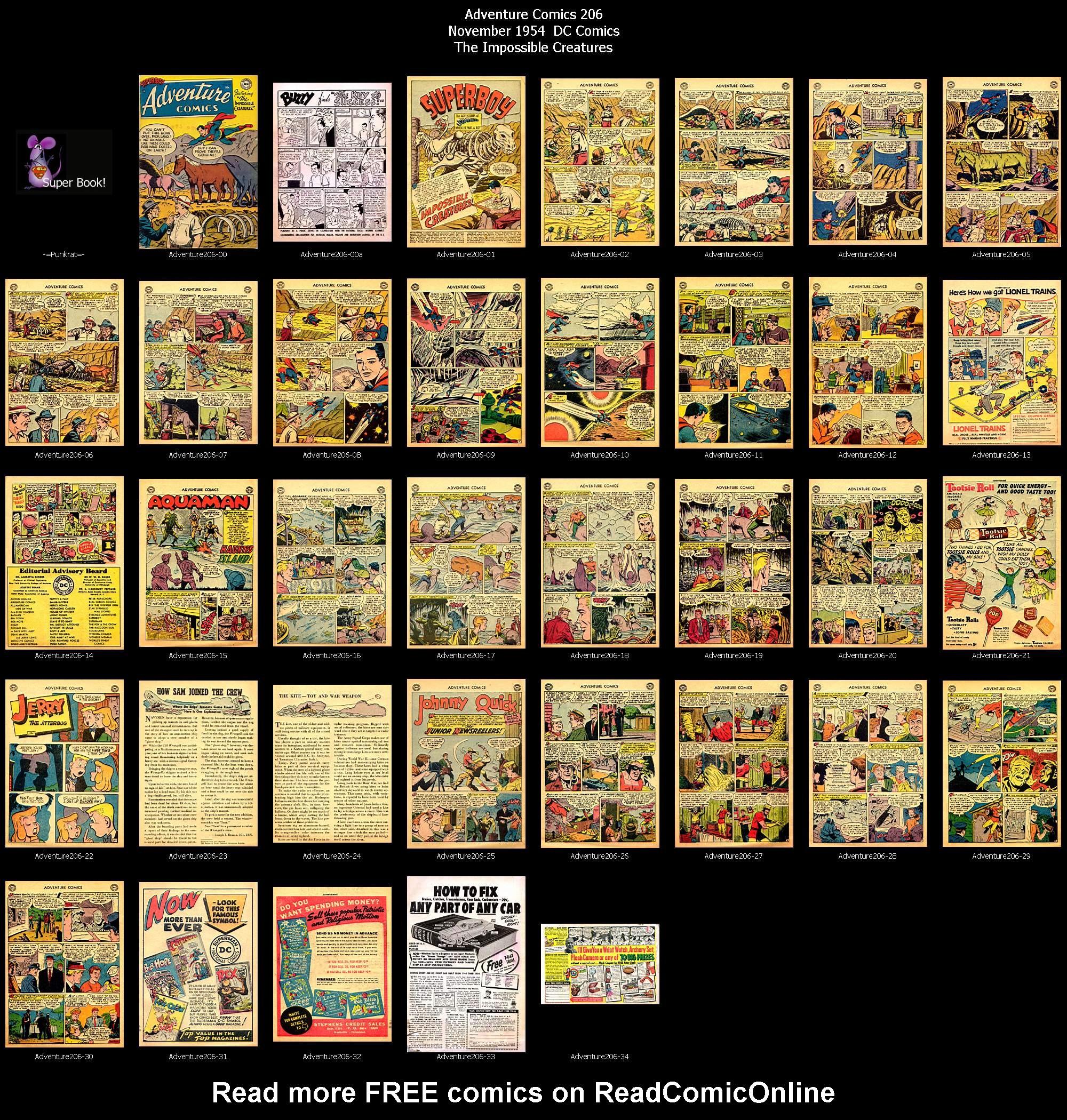 Read online Adventure Comics (1938) comic -  Issue #206 - 37