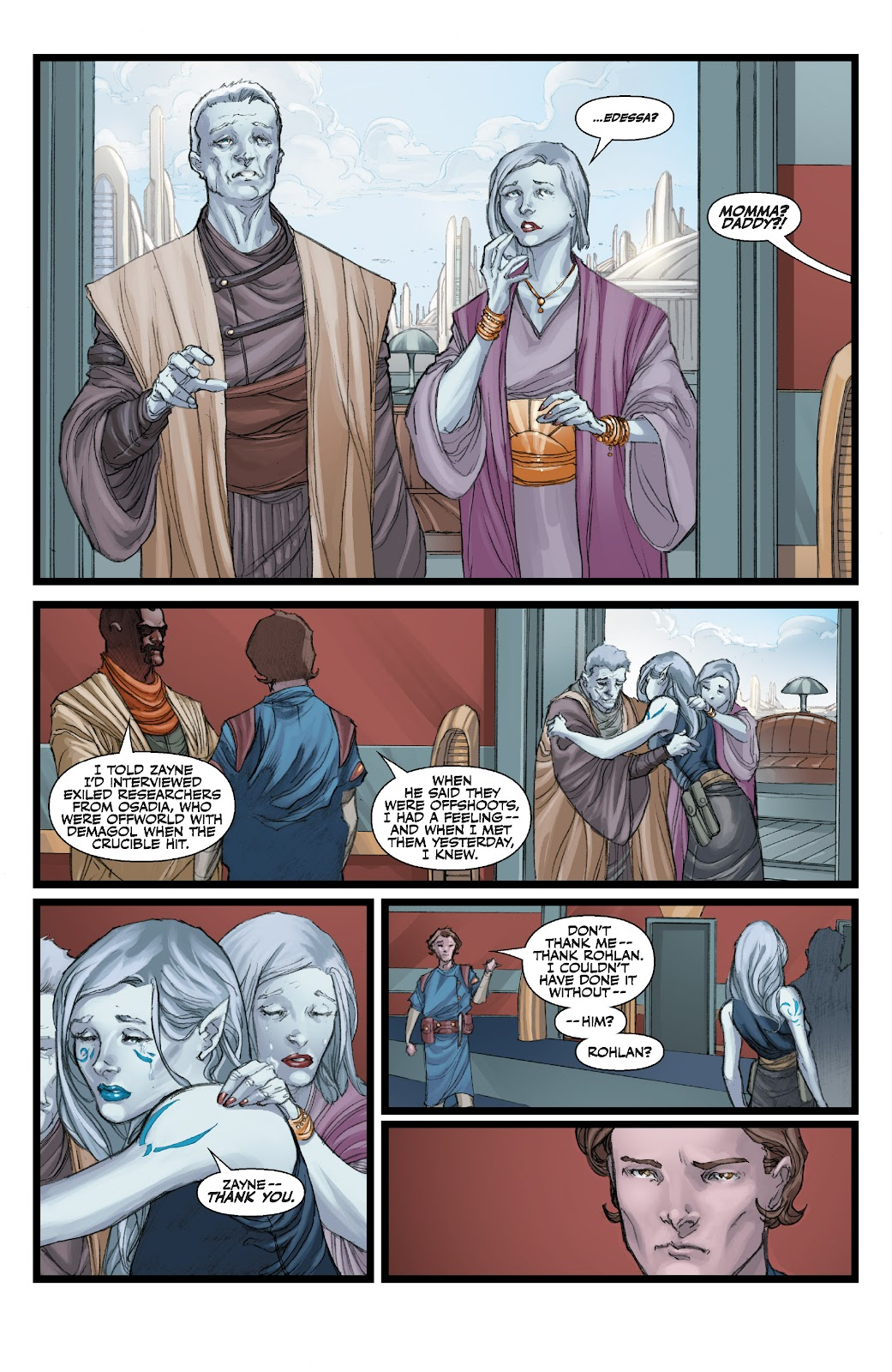 Read online Star Wars Legends: The Old Republic - Epic Collection comic -  Issue # TPB 3 (Part 3) - 97