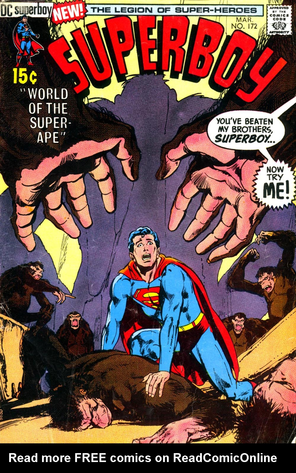 Superboy (1949) issue 172 - Page 1