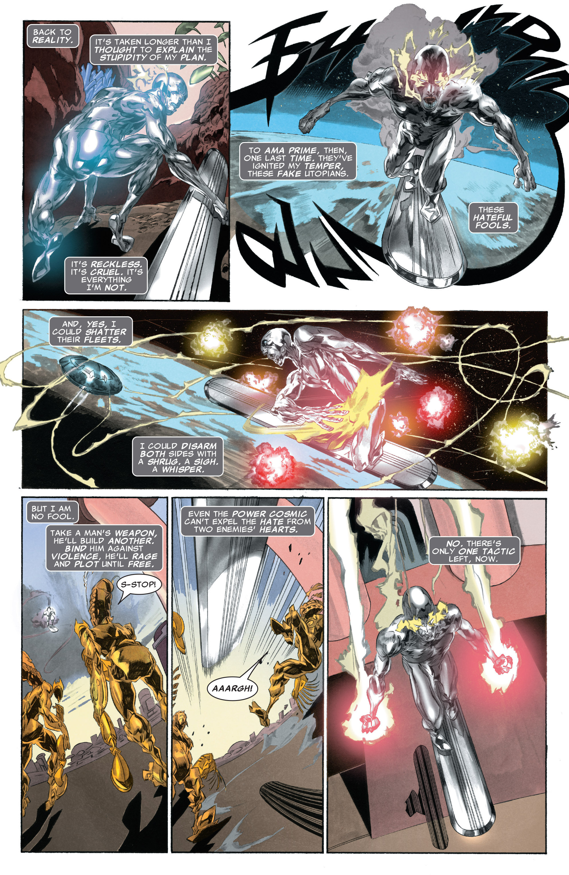 Read online Silver Surfer: In Thy Name comic -  Issue #3 - 16