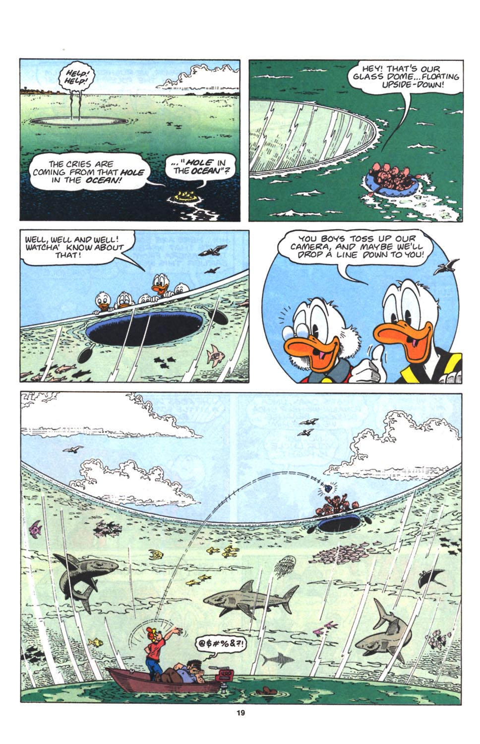 Read online Uncle Scrooge (1953) comic -  Issue #263 - 21