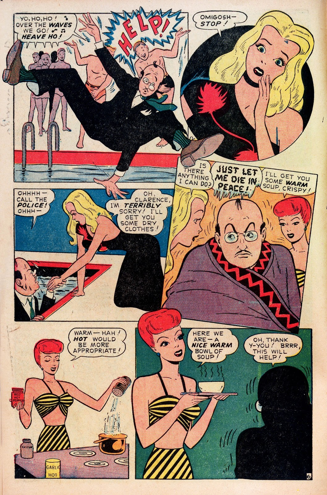 Read online Comedy Comics (1948) comic -  Issue #1 - 8