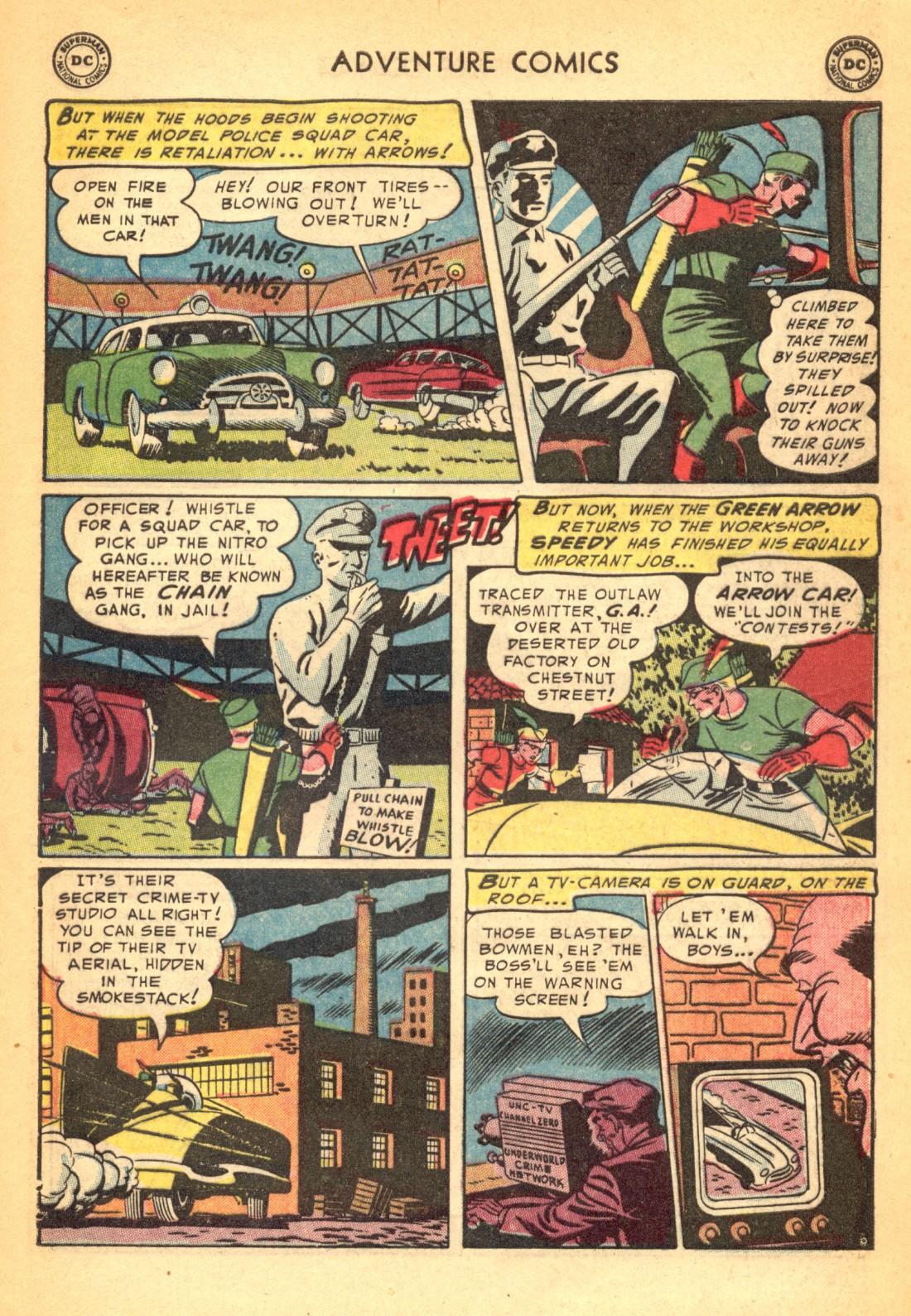 Read online Adventure Comics (1938) comic -  Issue #202 - 39