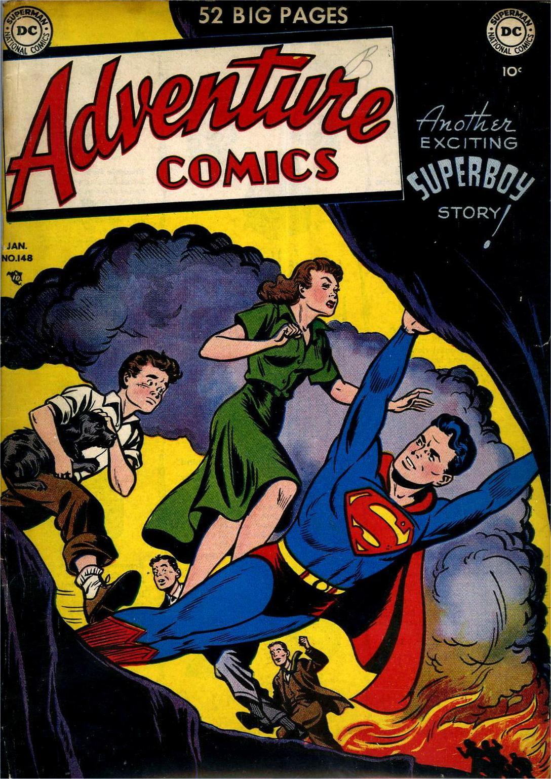 Read online Adventure Comics (1938) comic -  Issue #148 - 1