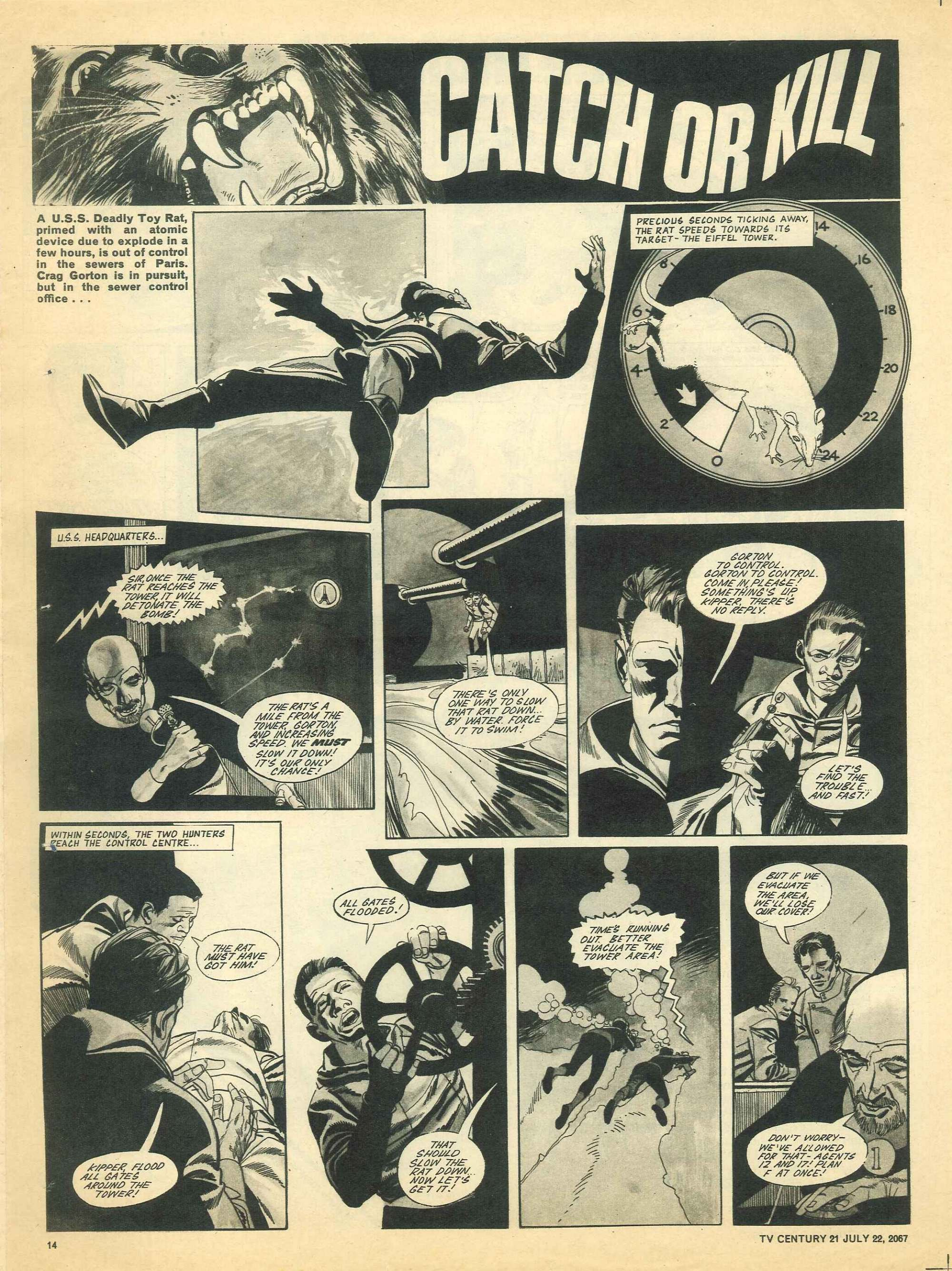 Read online TV Century 21 (TV 21) comic -  Issue #131 - 13