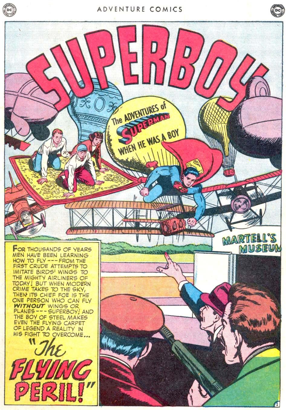 Read online Adventure Comics (1938) comic -  Issue #156 - 3