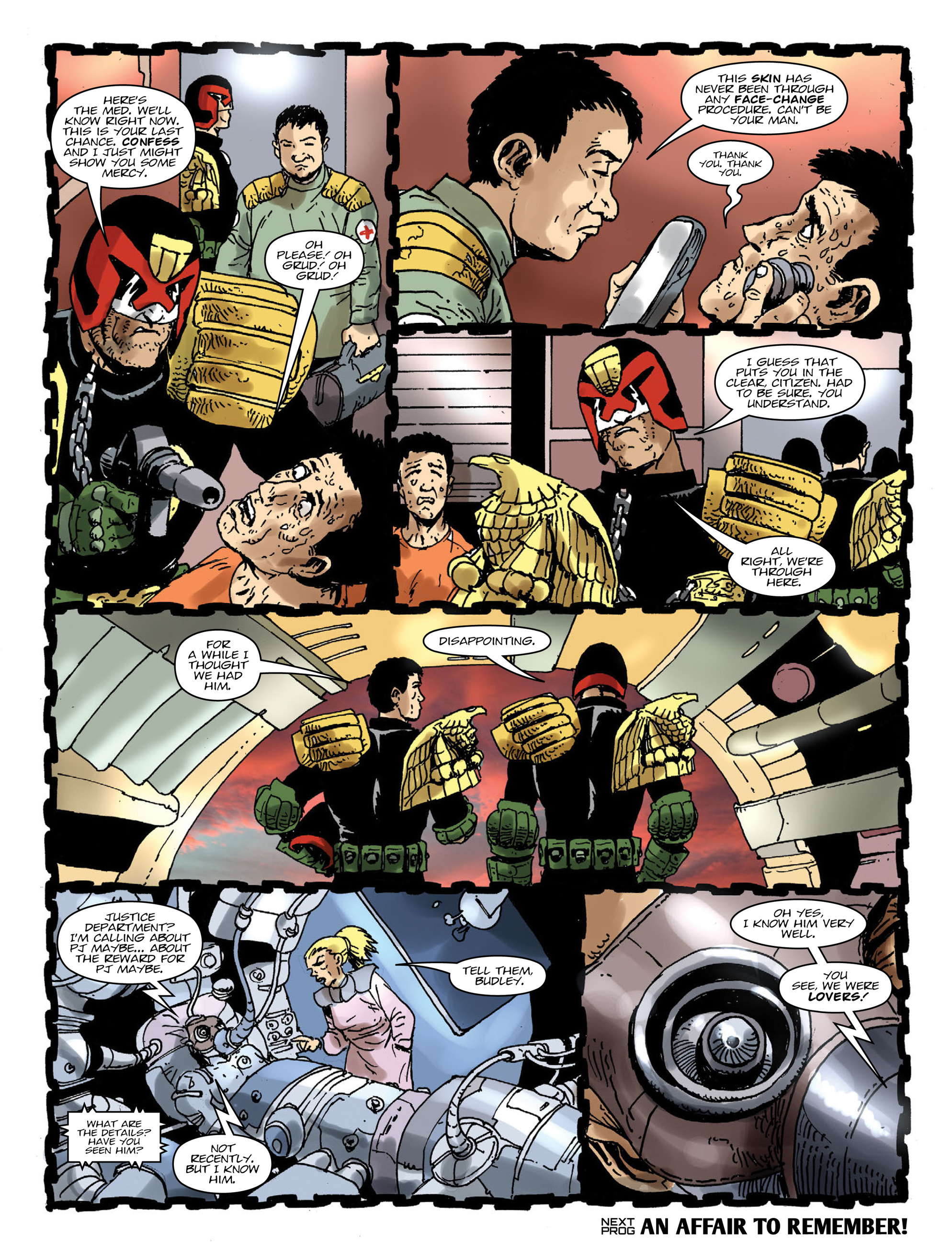 Read online 2000 AD comic -  Issue #1991 - 8