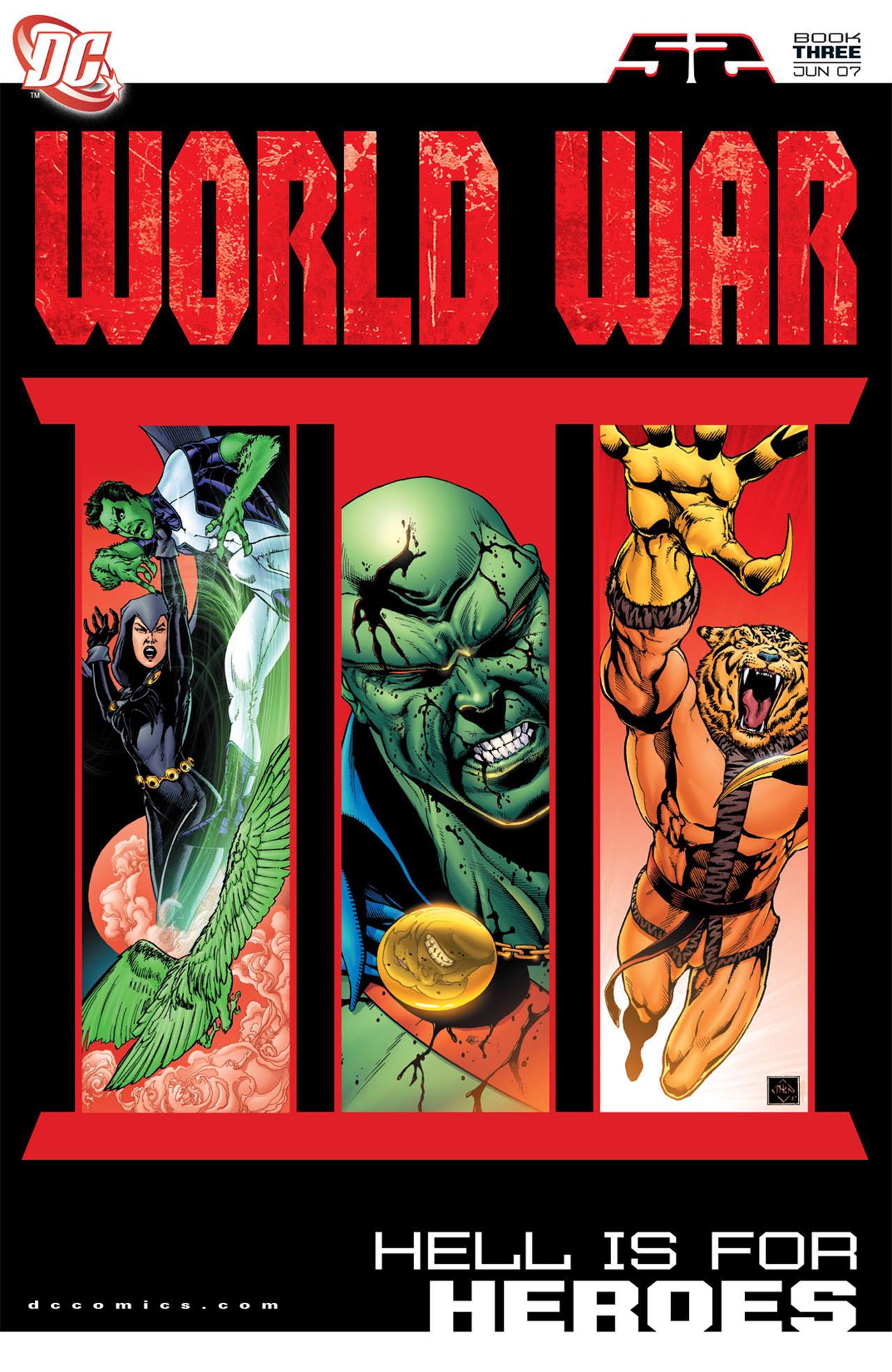 Read online World War III comic -  Issue #3 - 1