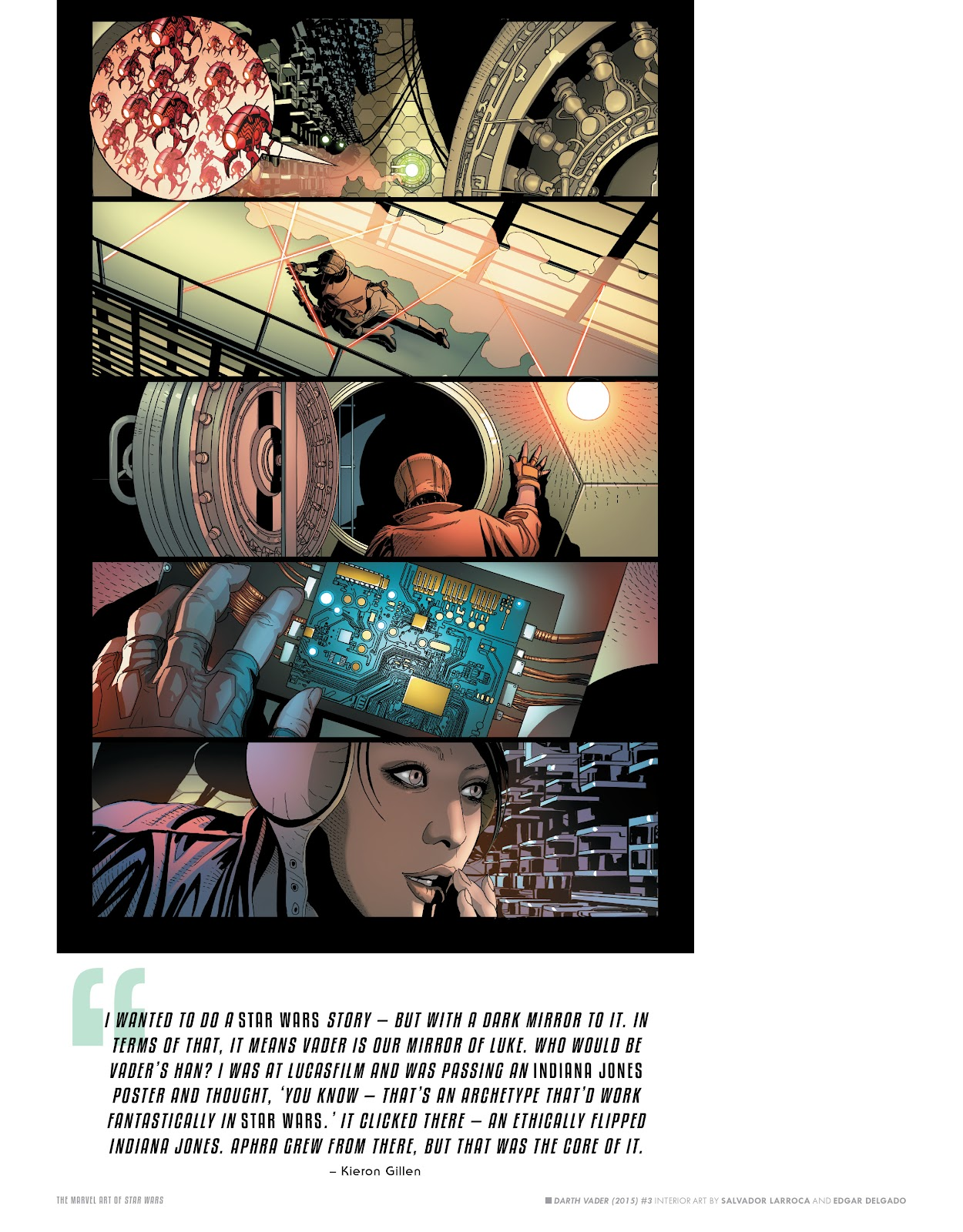 Read online The Marvel Art of Star Wars comic -  Issue # TPB (Part 1) - 62
