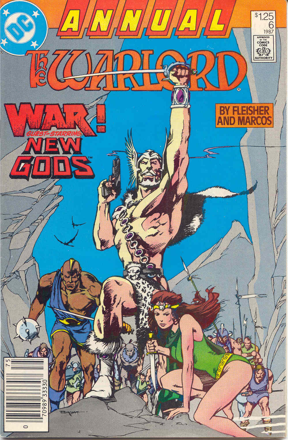Warlord (1976) _Annual_1 Page 1