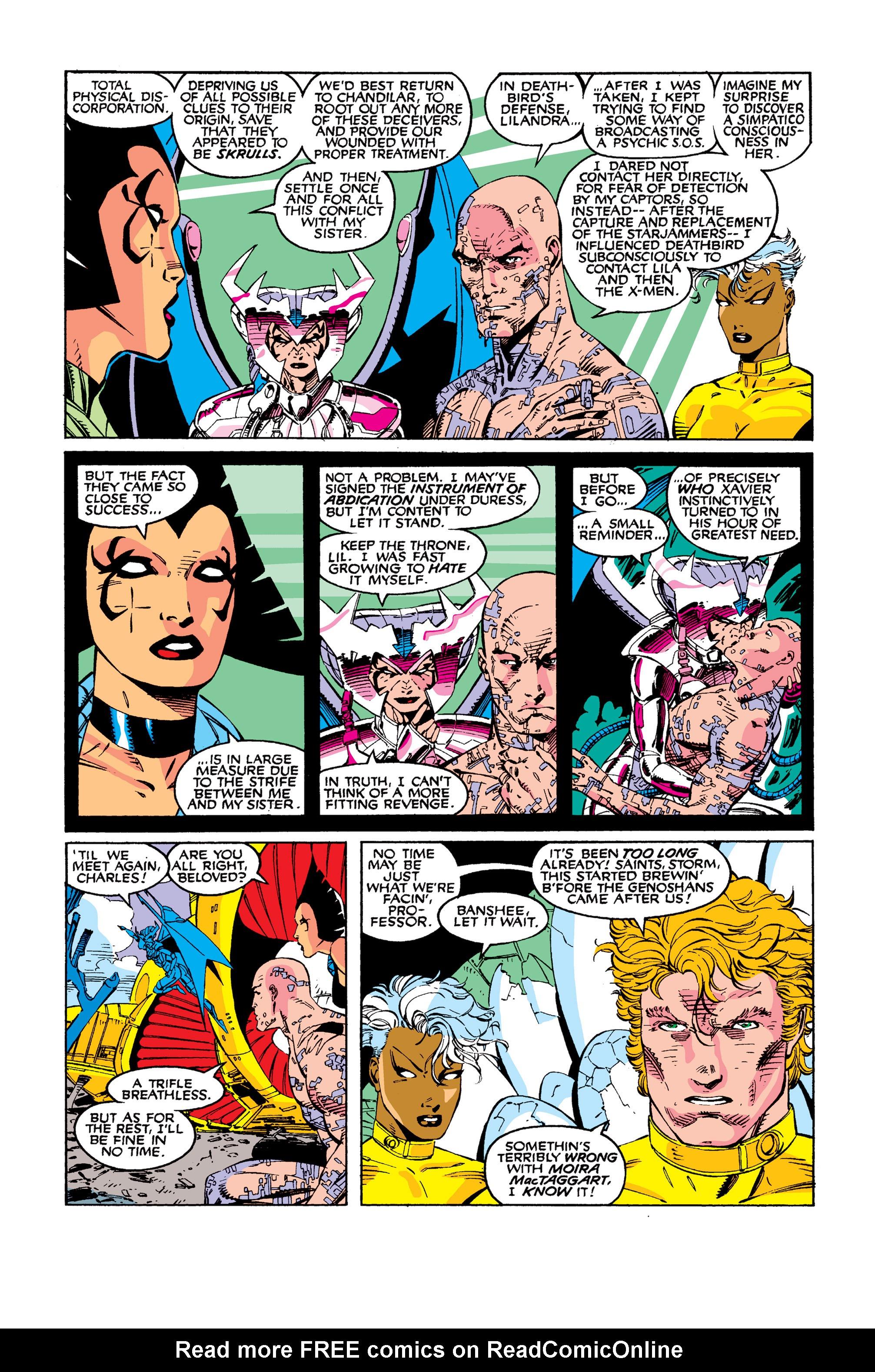 Read online Uncanny X-Men (1963) comic -  Issue #277 - 21