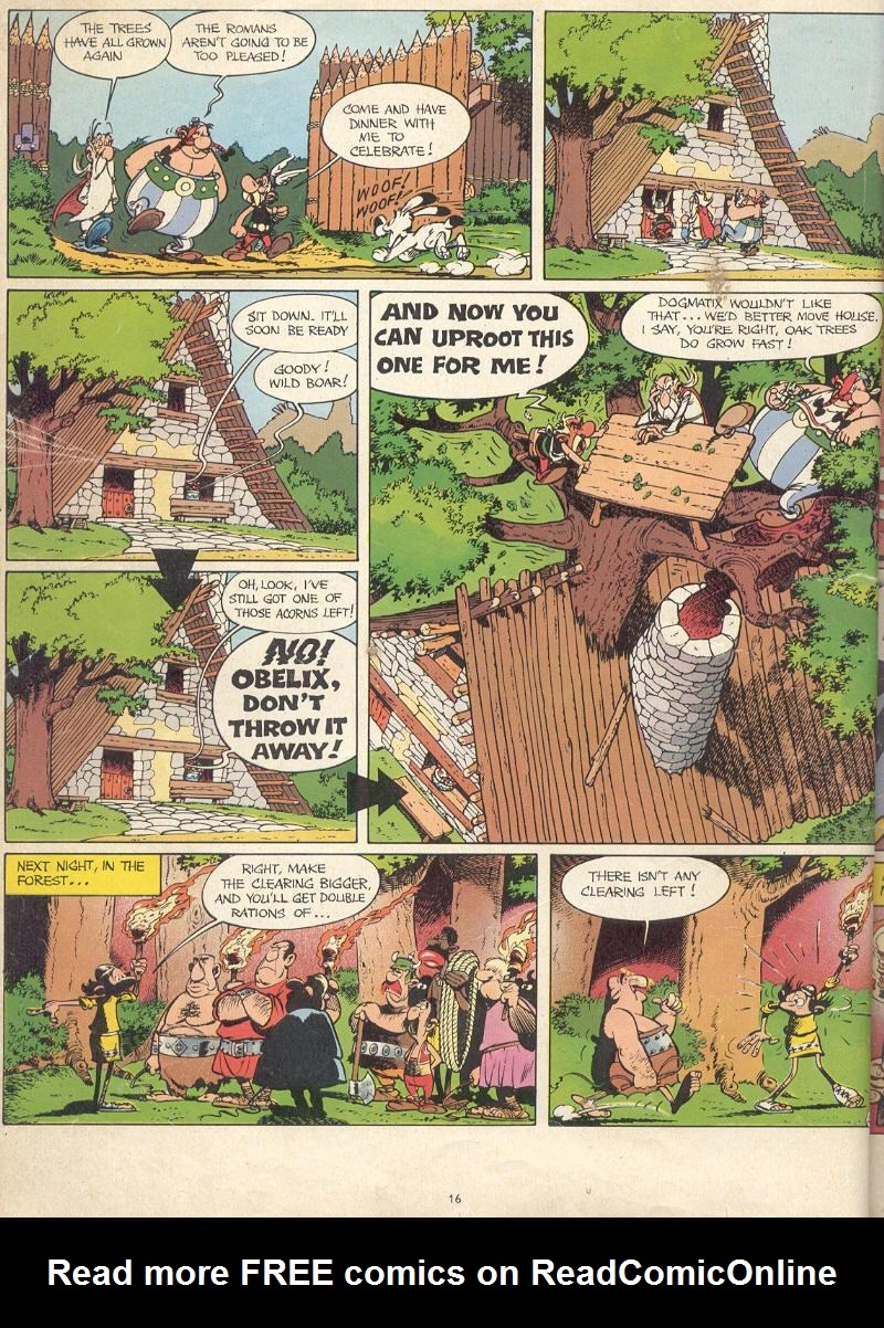 Read online Asterix comic -  Issue #17 - 14