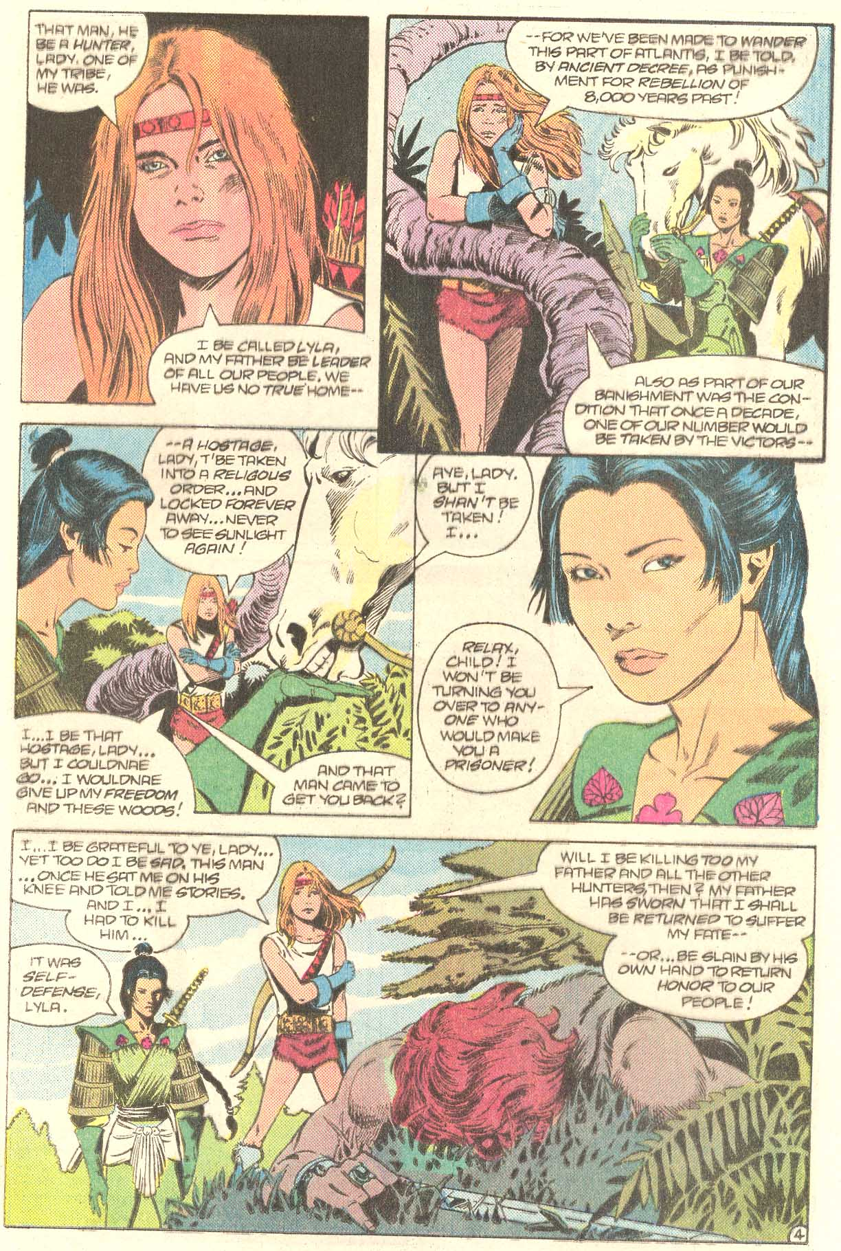 Read online Arion, Lord of Atlantis comic -  Issue #27 - 19