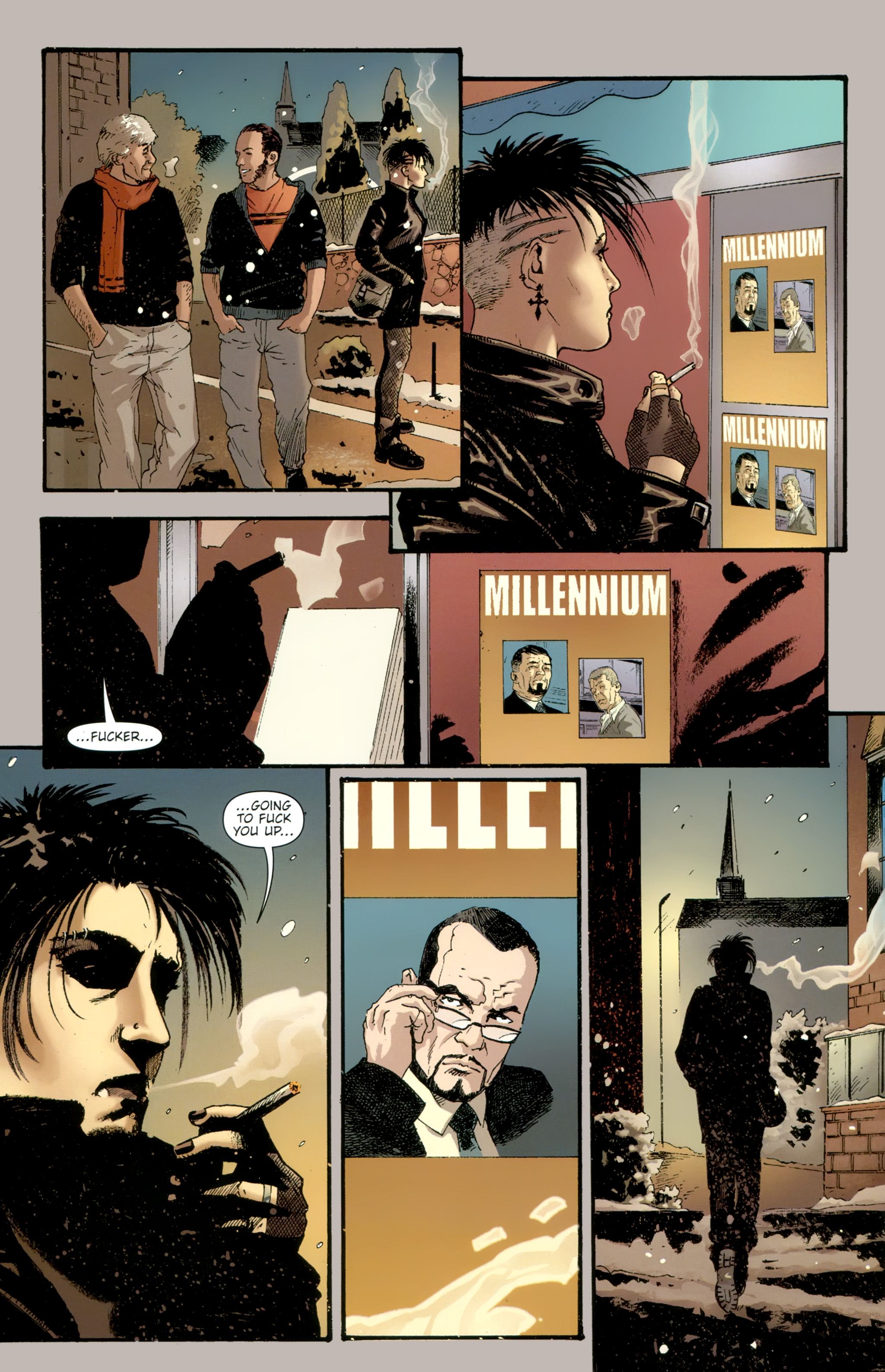 Read online The Girl With the Dragon Tattoo comic -  Issue # TPB 2 - 148