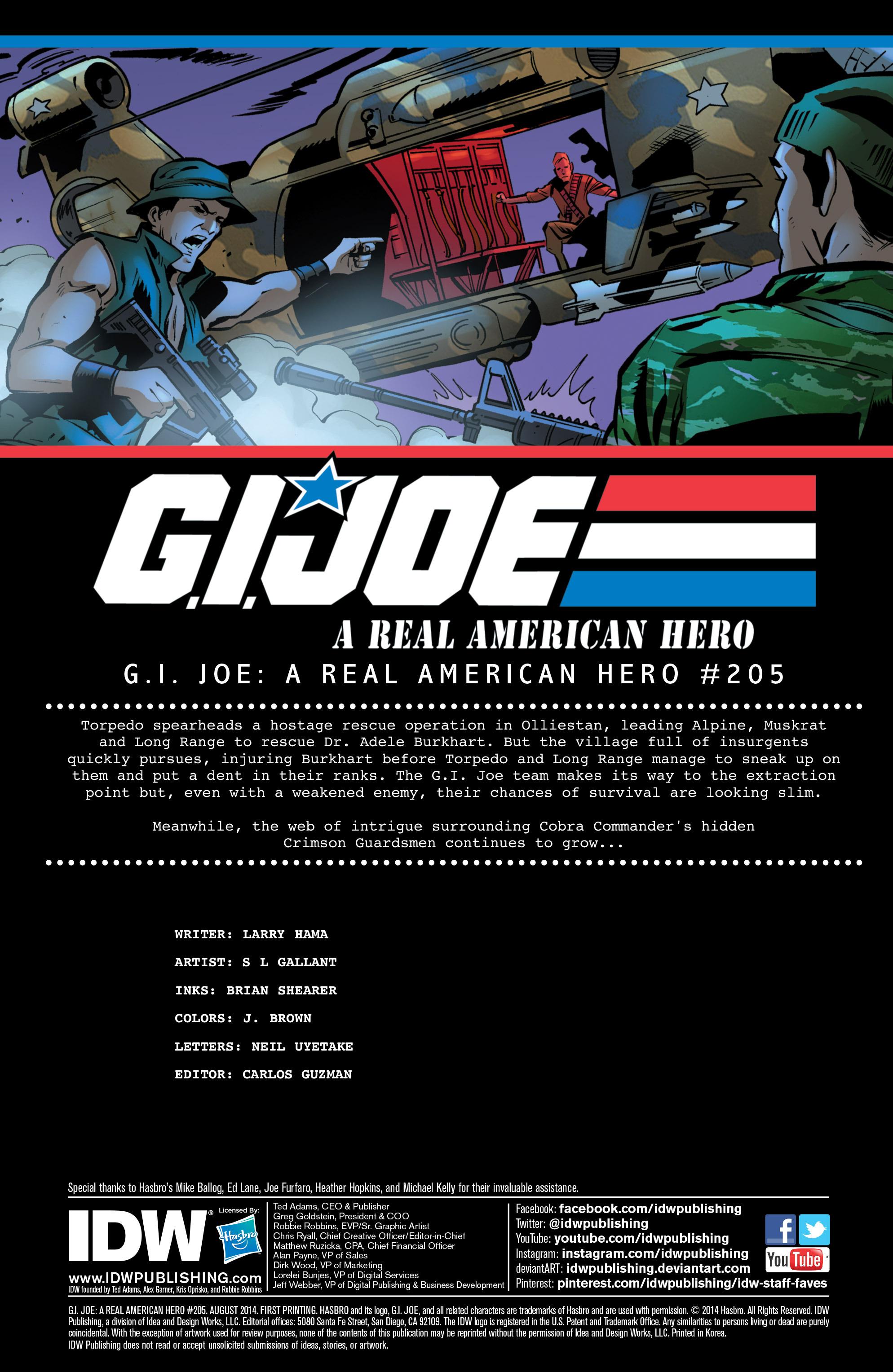 G.I. Joe: A Real American Hero 205 Page 2