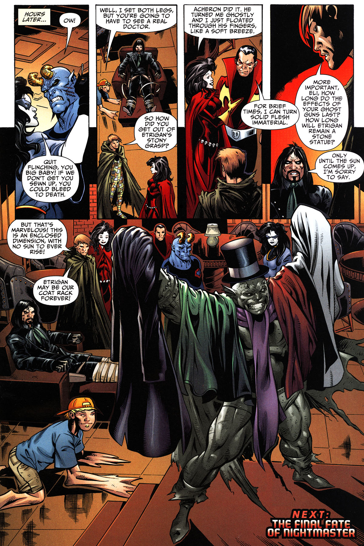 Read online Shadowpact comic -  Issue #11 - 22