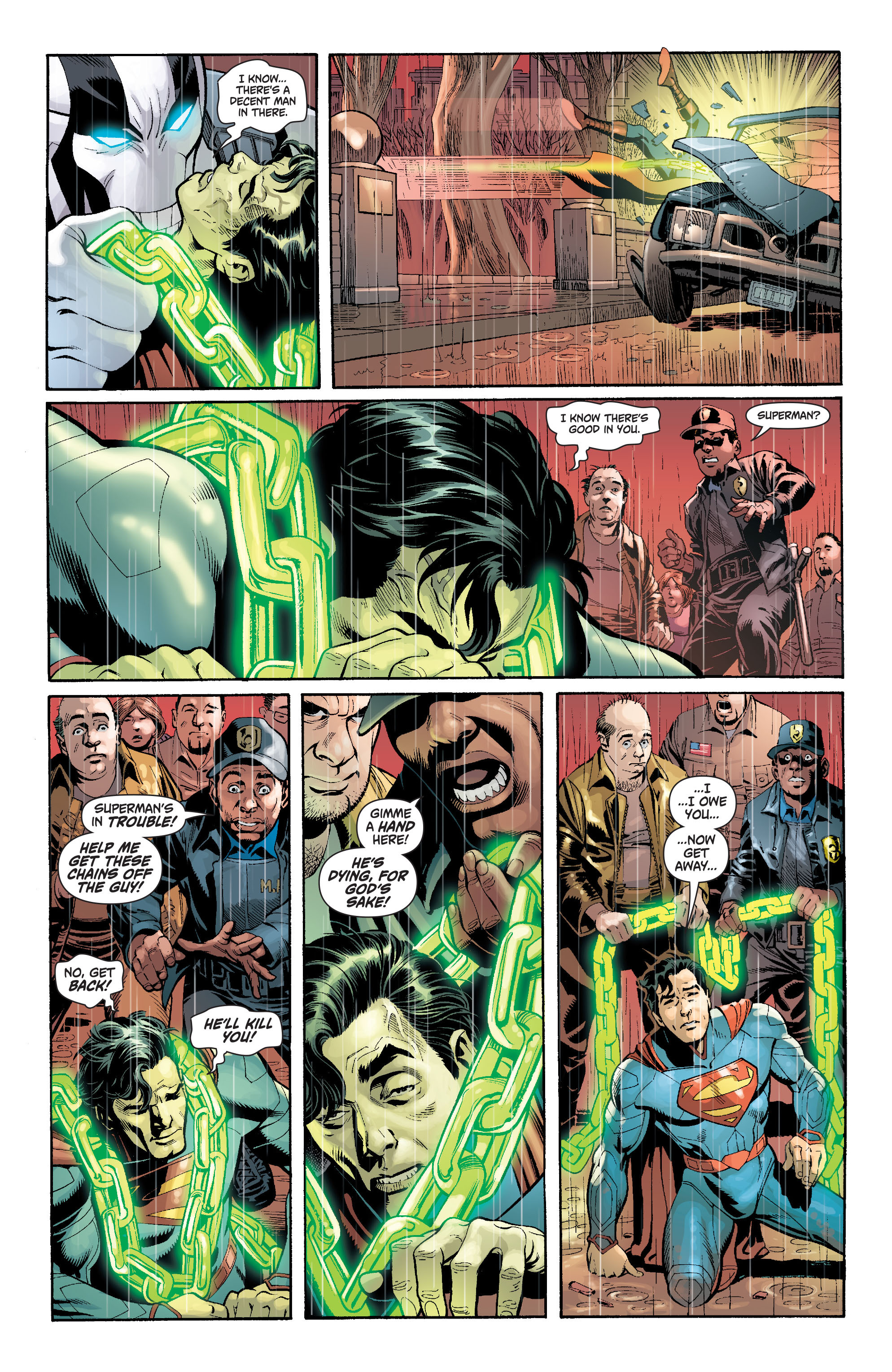 Read online Action Comics (2011) comic -  Issue #17 - 18