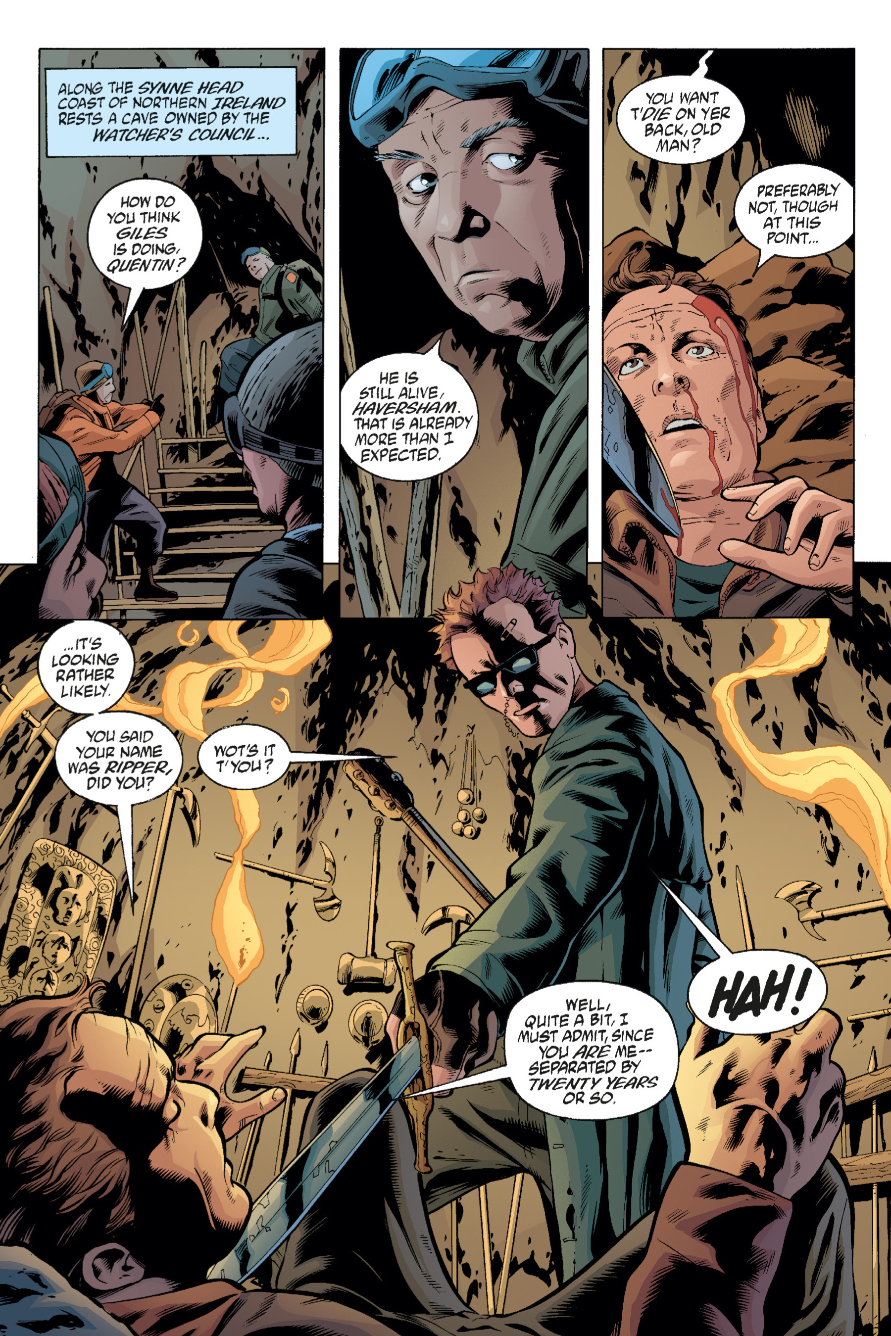 Read online Buffy the Vampire Slayer: Omnibus comic -  Issue # TPB 1 - 248