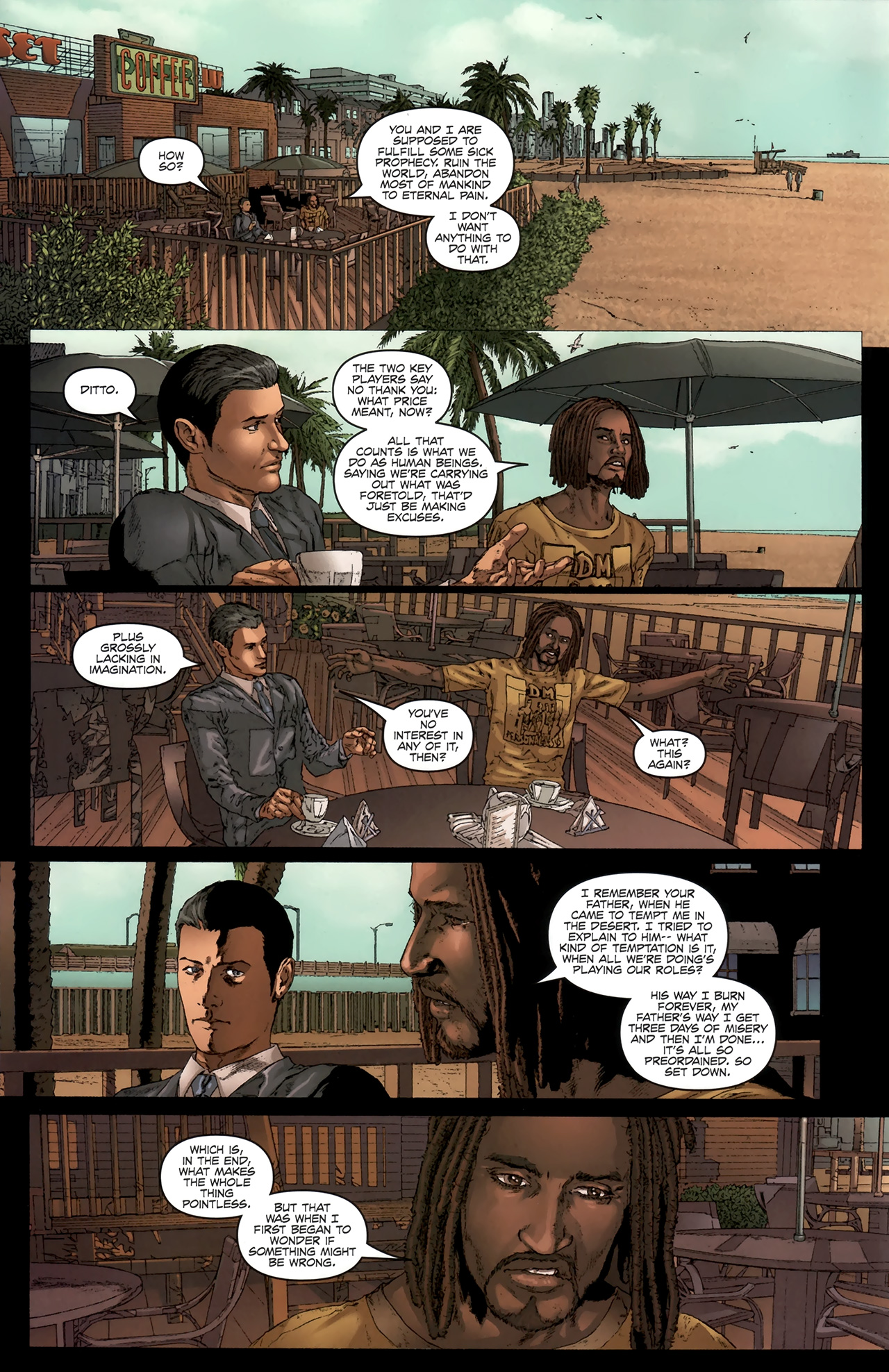 Read online Chronicles of Wormwood: The Last Battle comic -  Issue #6 - 5