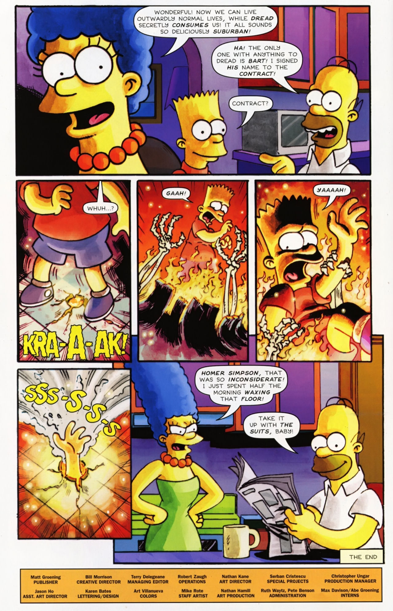 Read online Treehouse of Horror comic -  Issue #16 - 51