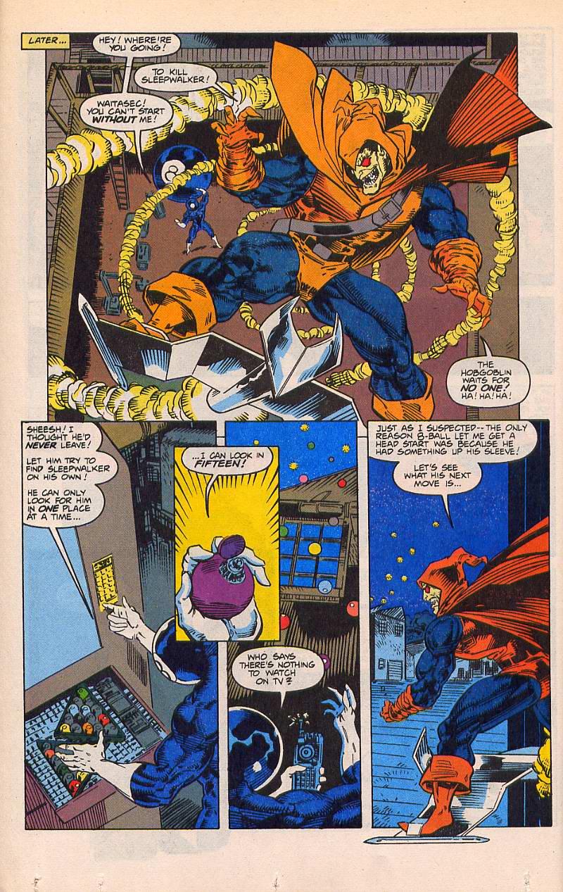 Read online Sleepwalker comic -  Issue #21 - 13