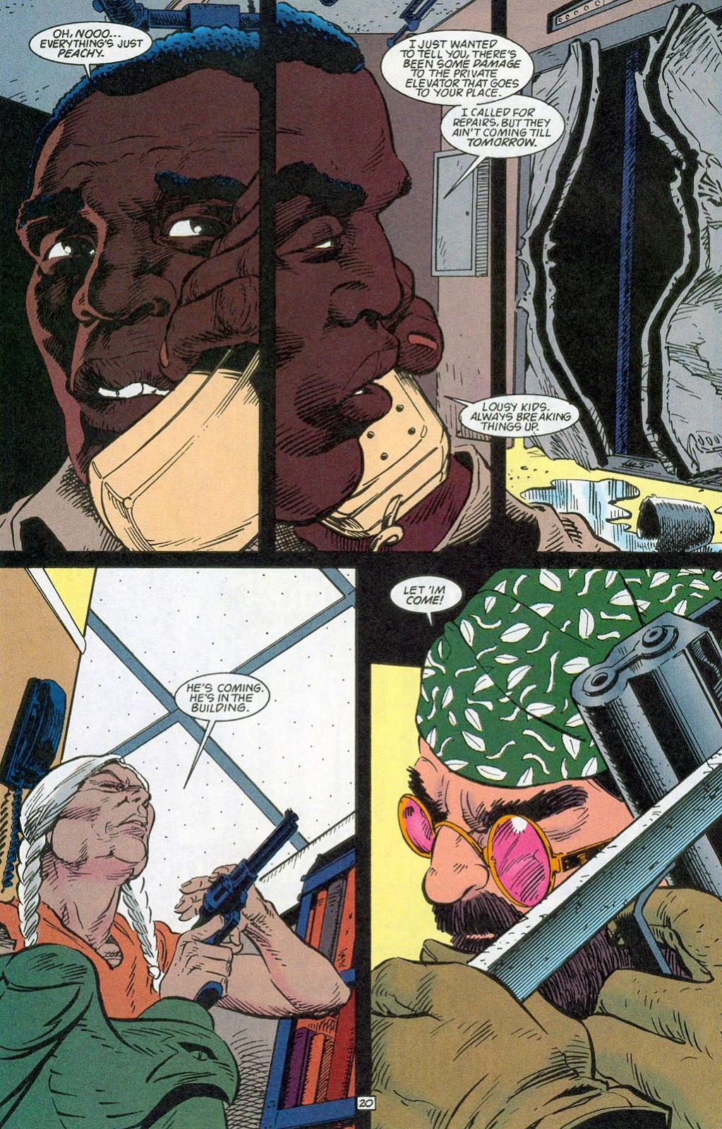 Hawkman (1993) Issue #24 #27 - English 22