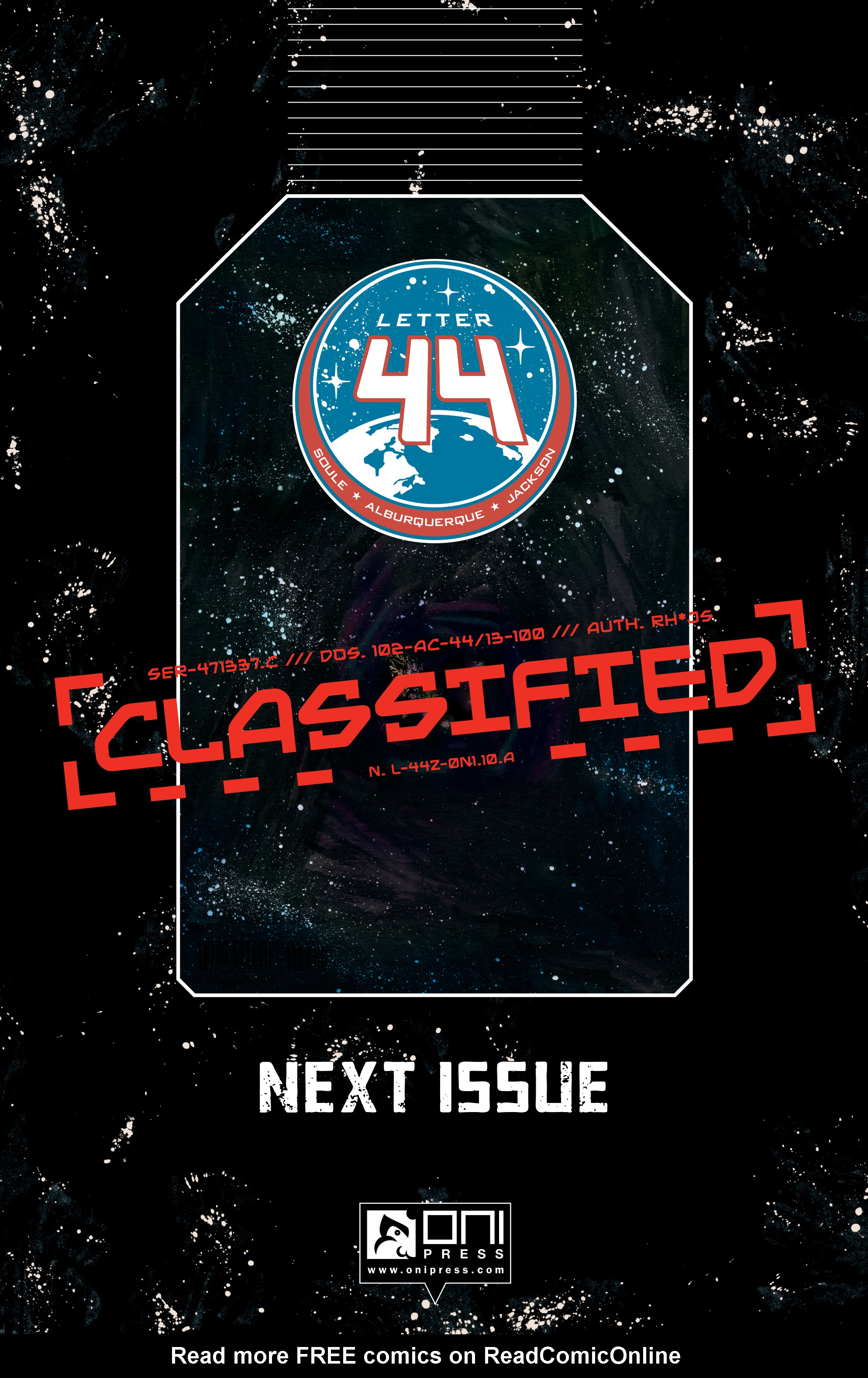 Read online Letter 44 comic -  Issue #33 - 23