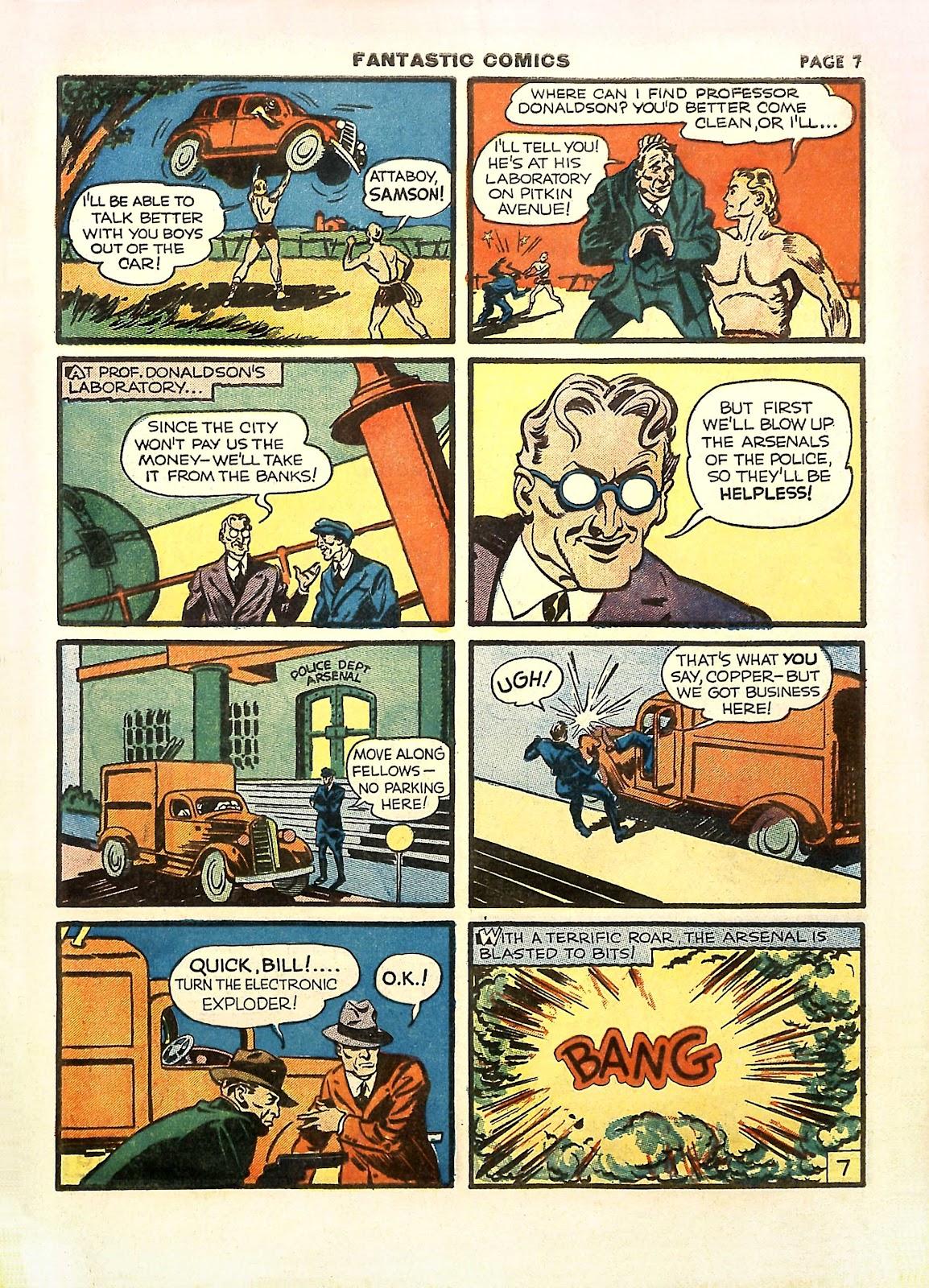 Read online Fantastic Comics comic -  Issue #11 - 10