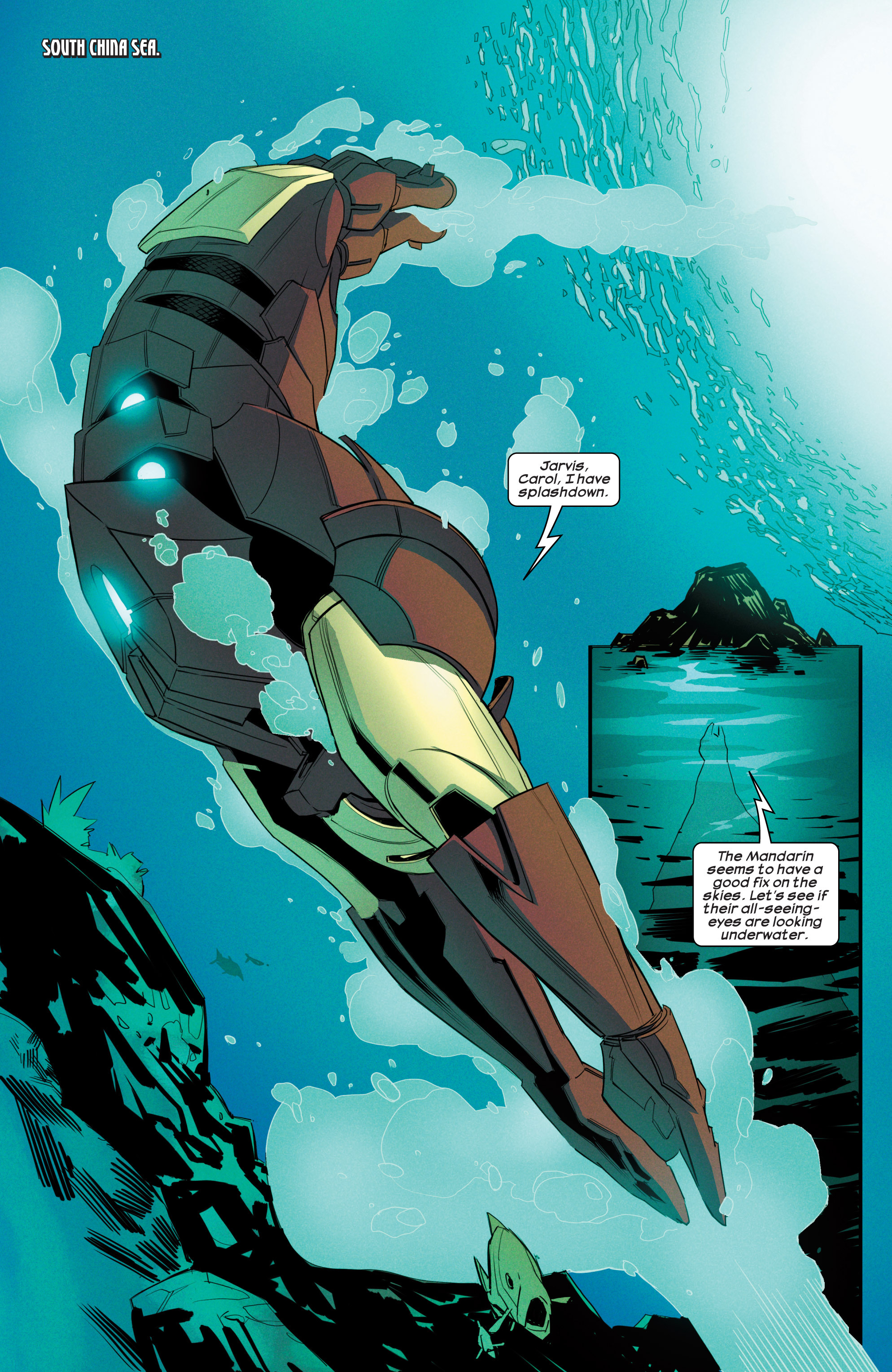 Read online Ultimate Comics Iron Man comic -  Issue #3 - 15