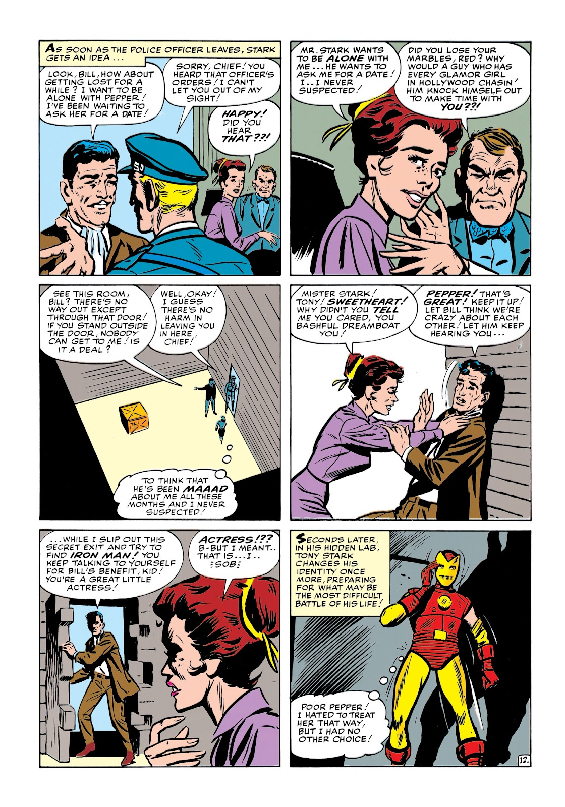 Read online Marvel Masterworks: The Invincible Iron Man comic -  Issue # TPB 1 (Part 2) - 51
