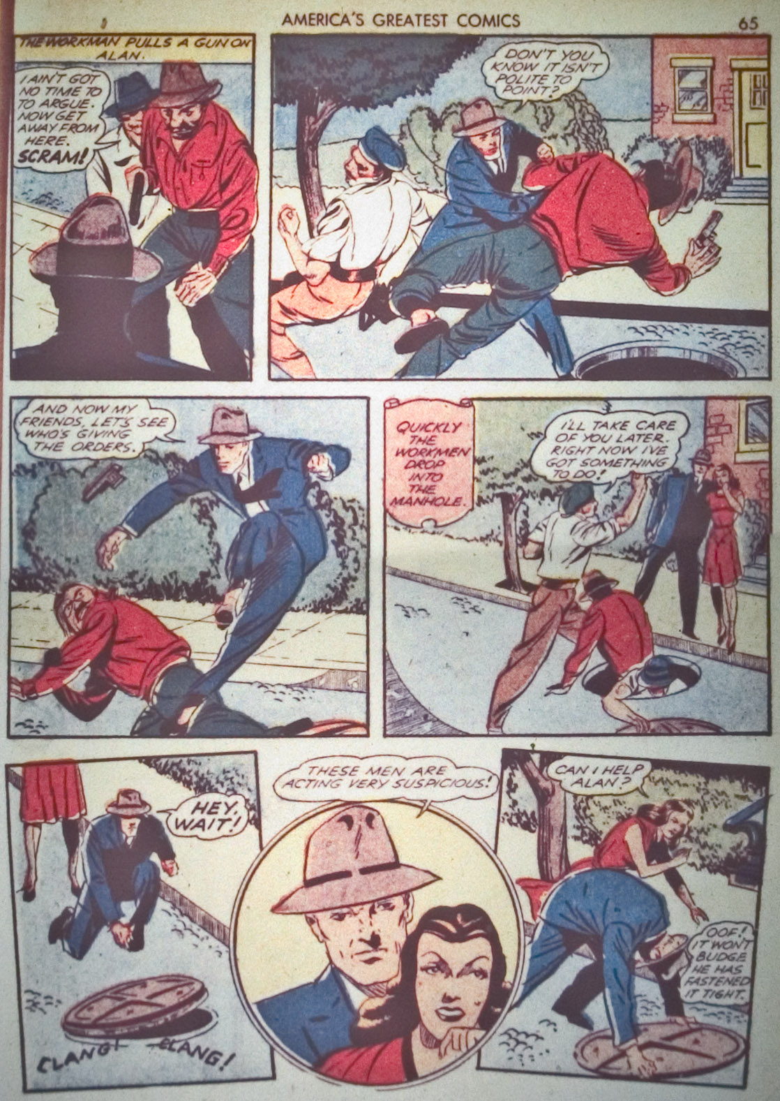 Read online America's Greatest Comics comic -  Issue #1 - 68