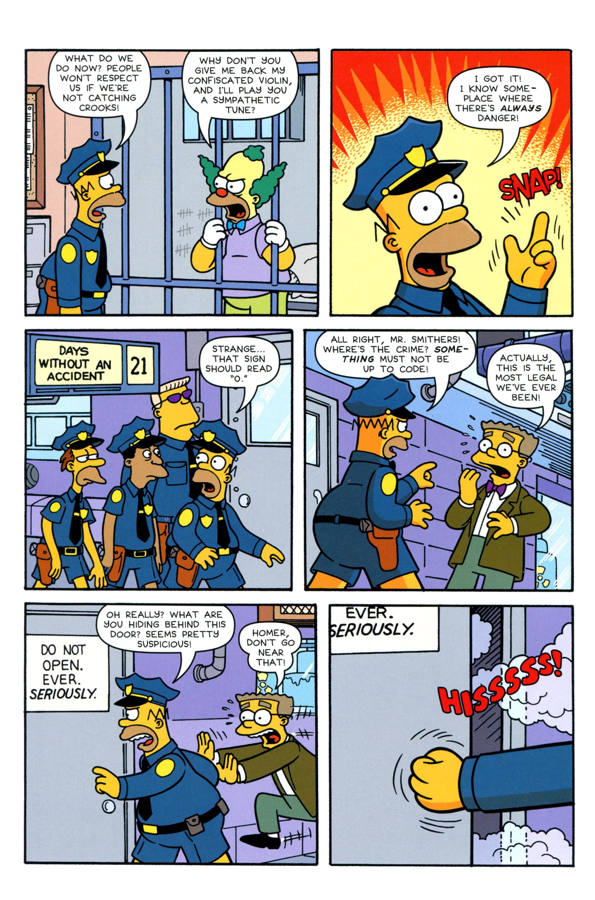 Read online Simpsons Comics comic -  Issue #210 - 20