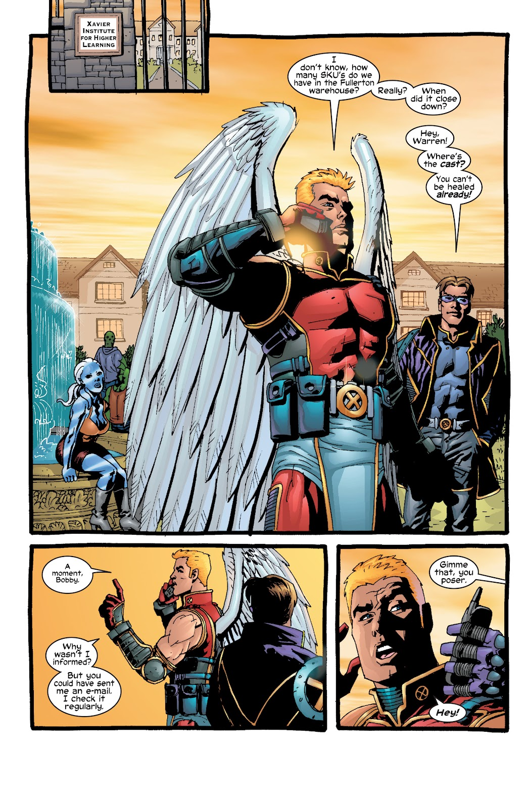 Read online X-Men: Unstoppable comic -  Issue # TPB (Part 2) - 24