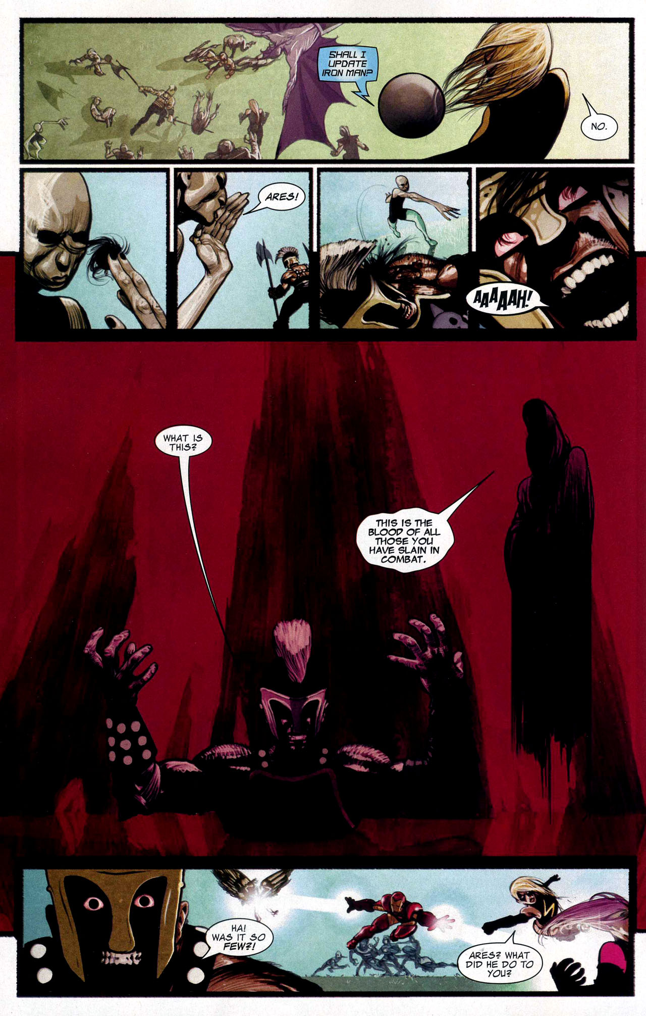 Read online Silent War comic -  Issue #5 - 9